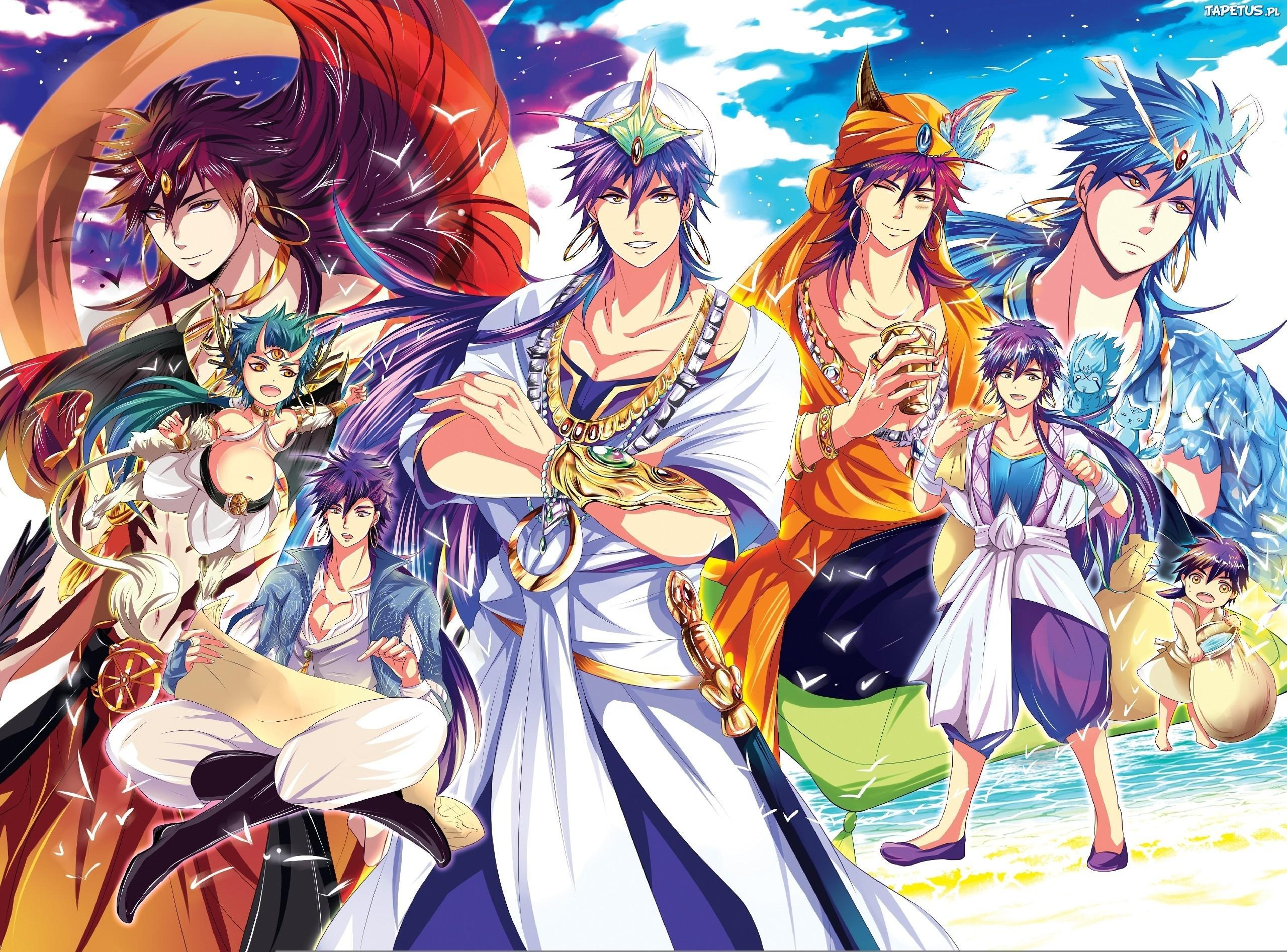 The Adventures Of Sinbad Wallpapers - - Best fantasy anime