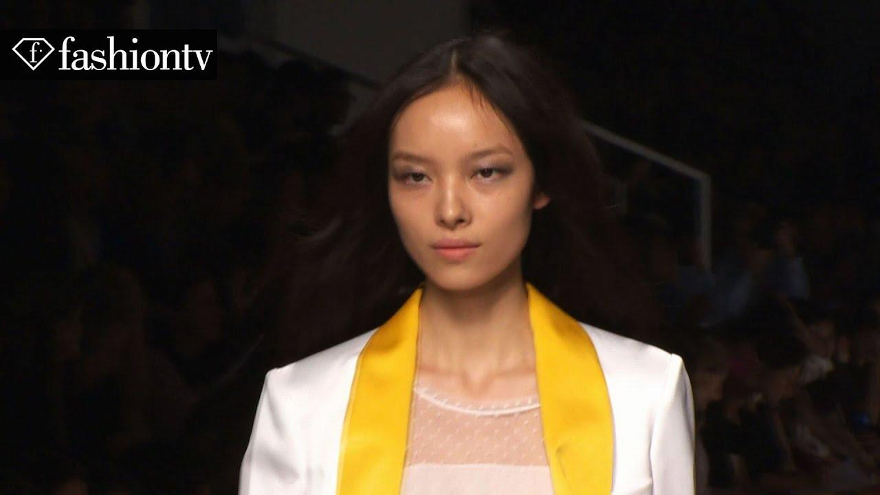 Fei Fei Sun: Model Talk at Spring/Summer 2014 Fashion Week
