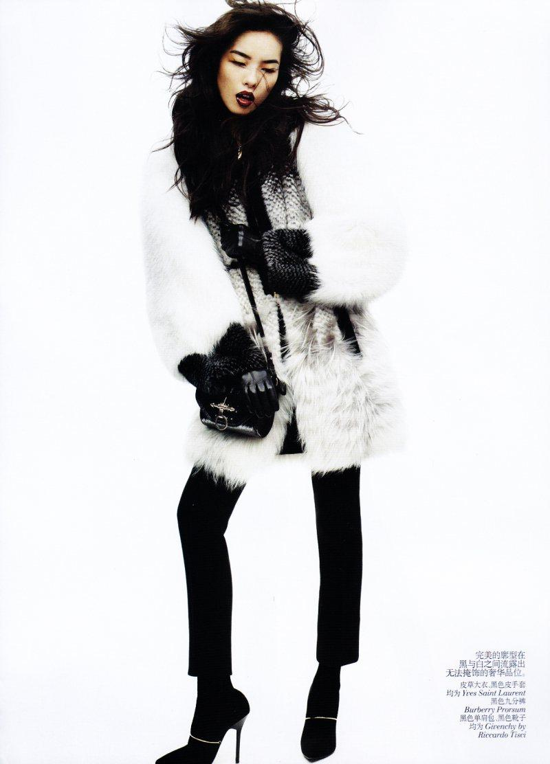 Fei Fei Sun by Josh Olins for Vogue China November 2011
