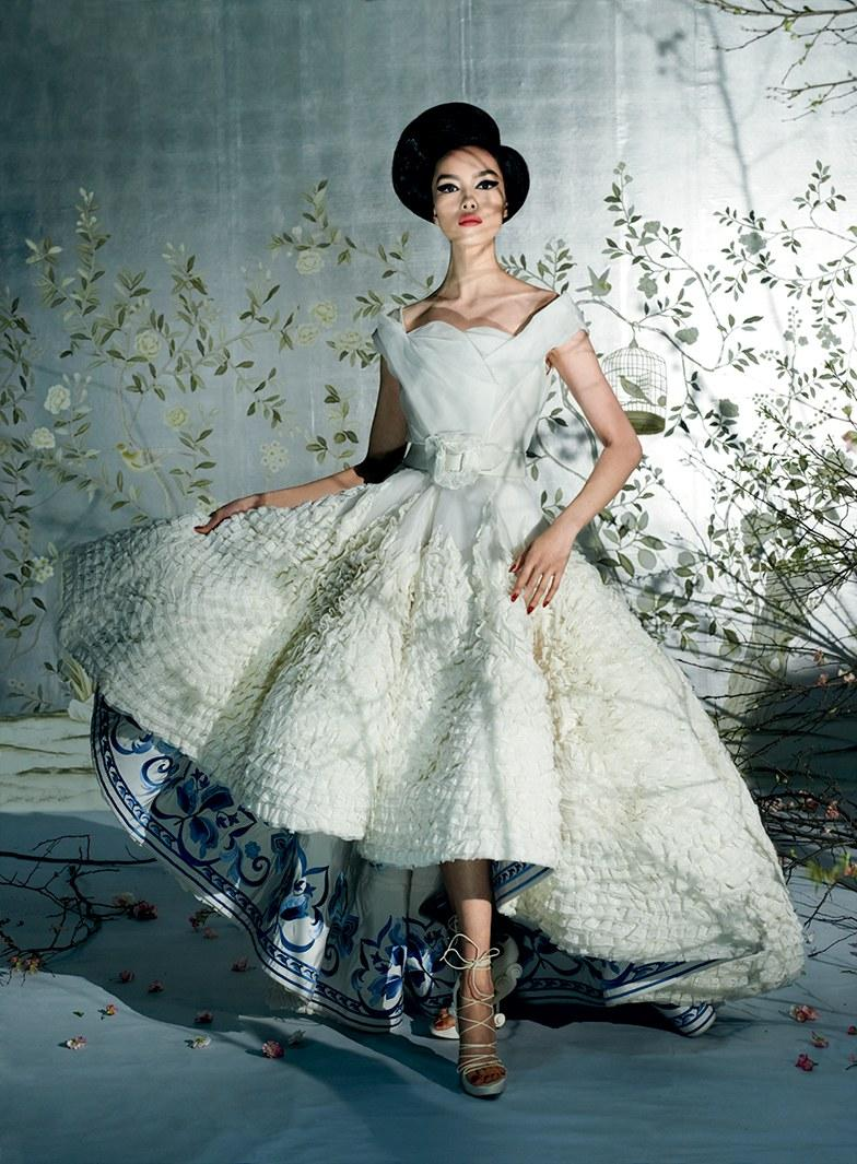China: Through the Looking Glass: A First Look at the Dresses in