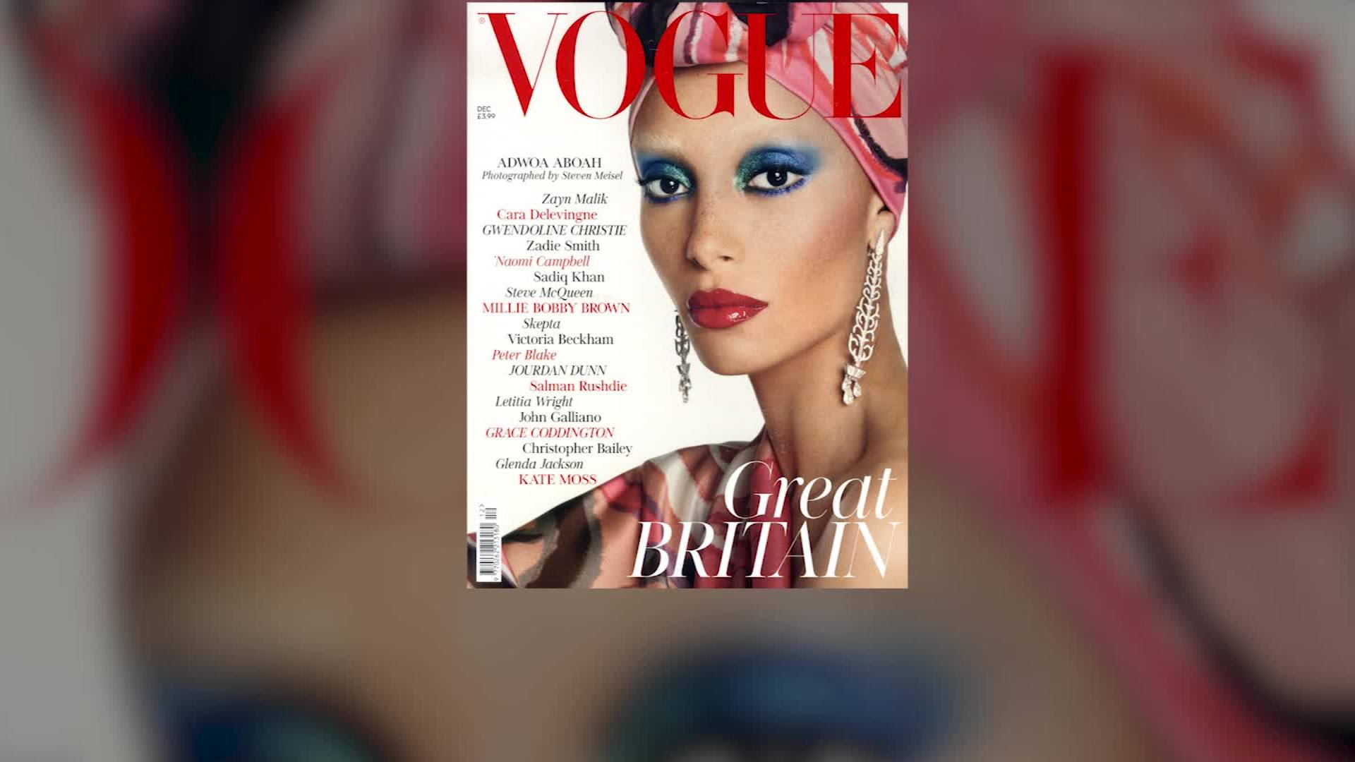 Vogue's new cover star signals new era for diveristy