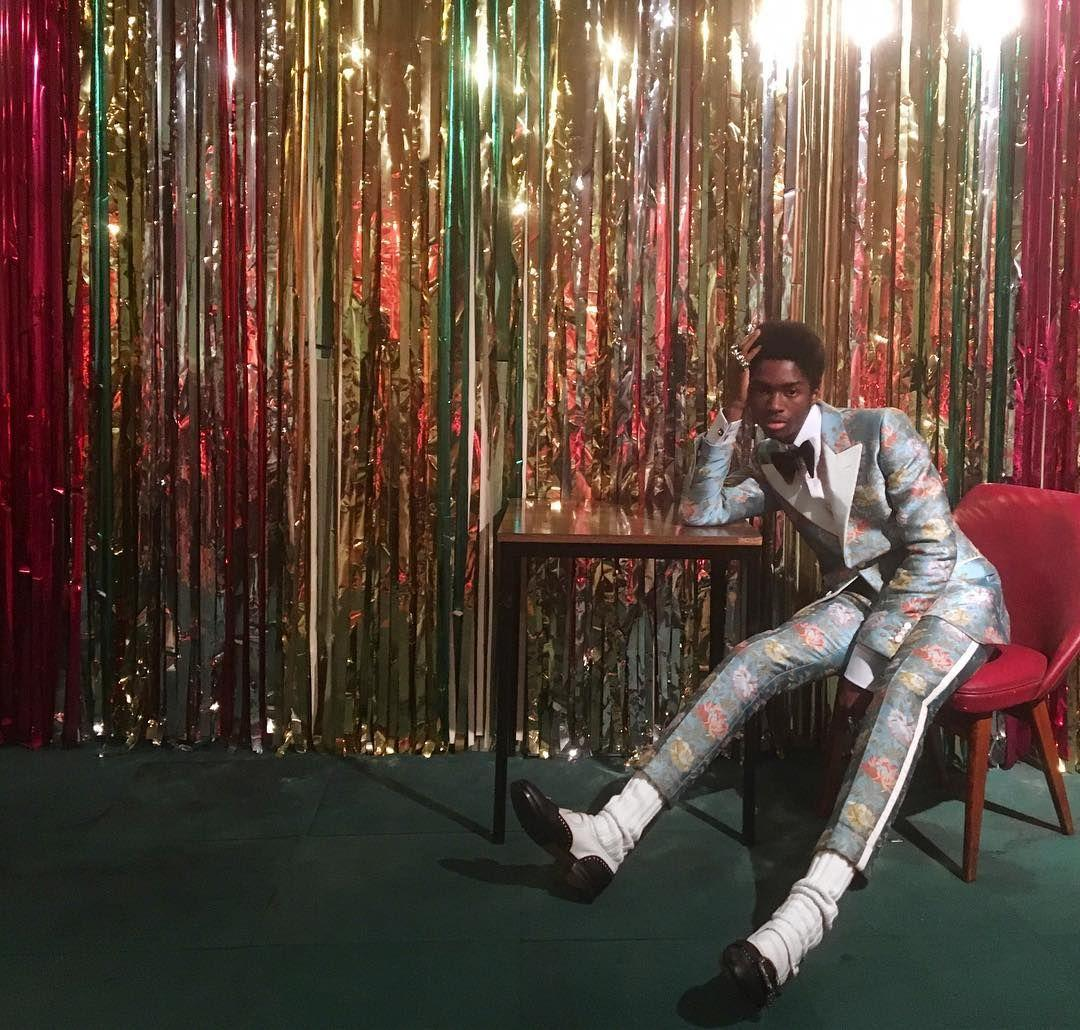 Alton Mason for Gucci Prefall Collection | Disco in 2019 | Disco ...