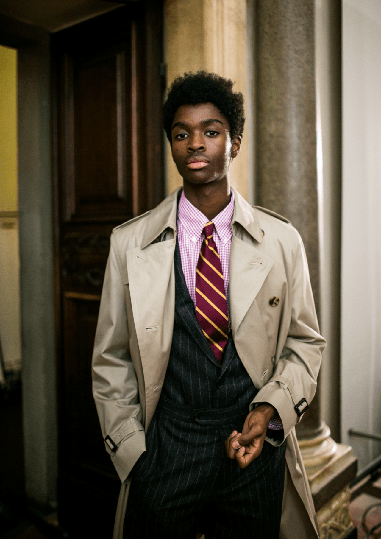 "christos: ""Alton Mason by Kuba Dabrowski – Backstage at Brooks ..."