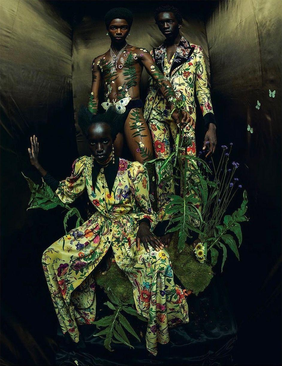 Niko Riam Wilson Oryema & Alton Mason Photo by Tim Walker Styled by ...