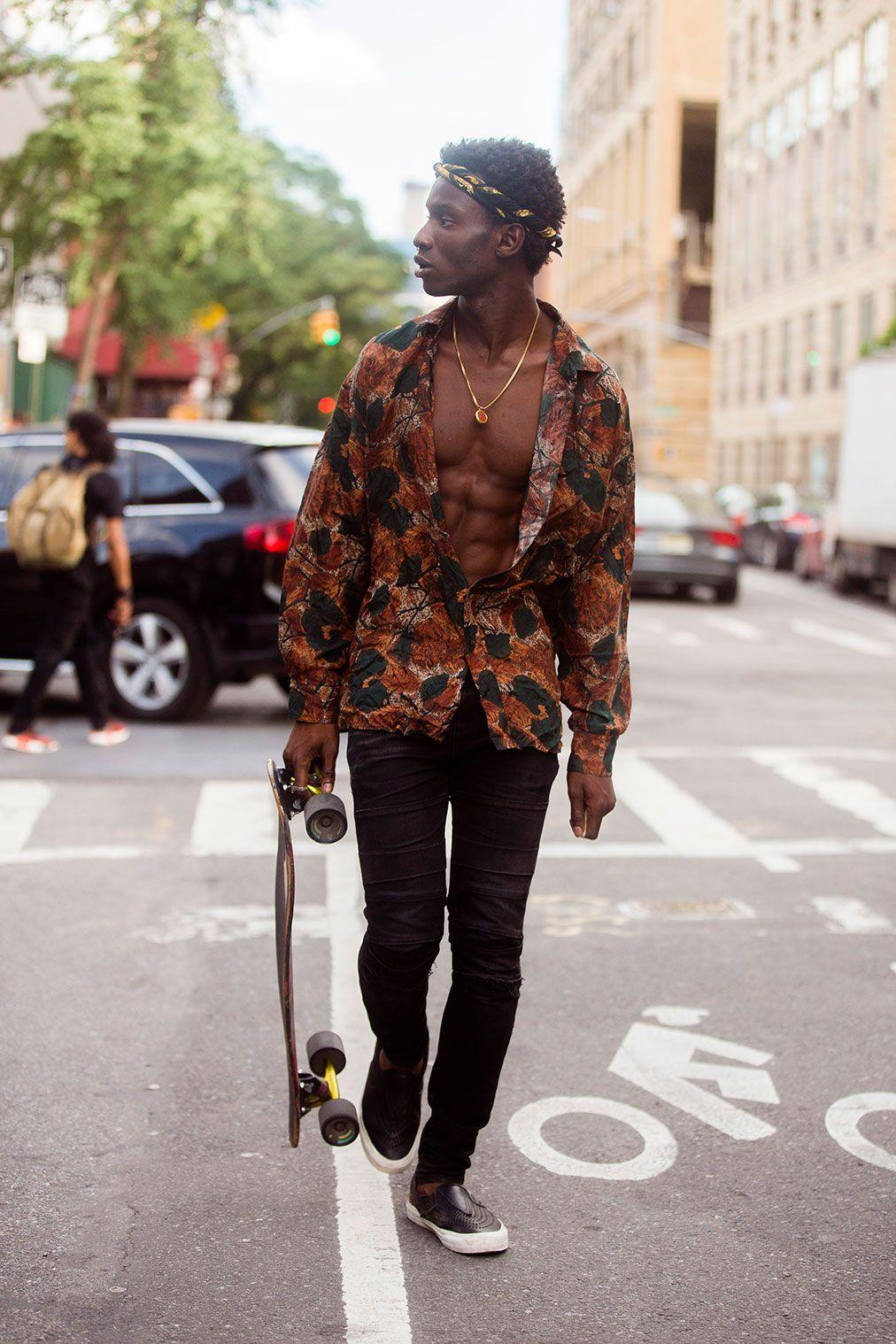 "marieahh: "" Adonis Bosso at NYMFW SS17 shot by Melodie Jeng"