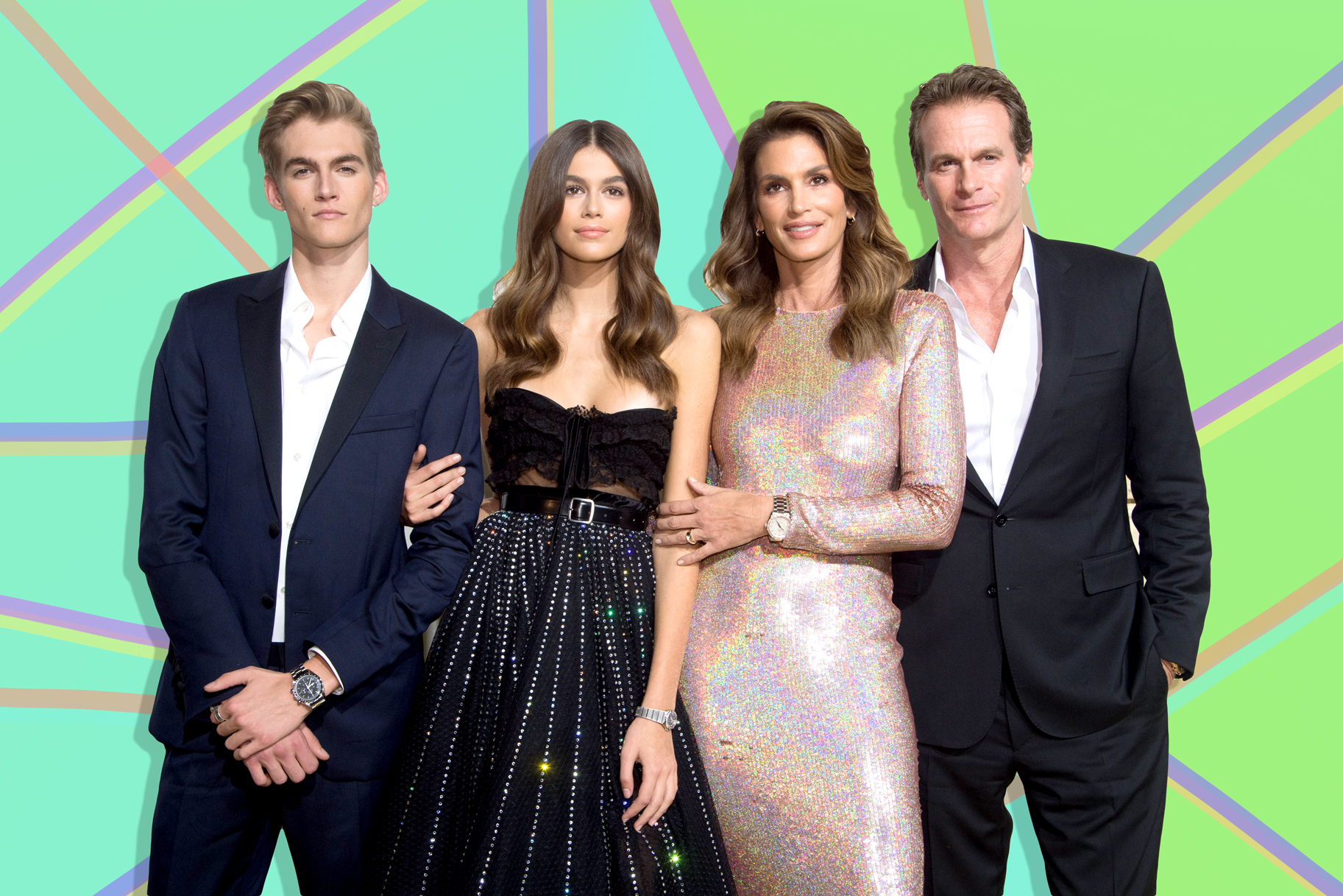 Cindy Crawford's Son Presley Tattooed Sister Kaia's Name: Pic | Lookbook
