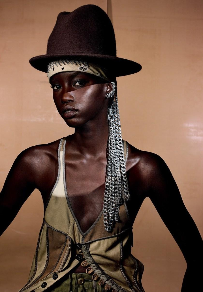 V MAGAZINE: Anok Yai by Richard Burbridge