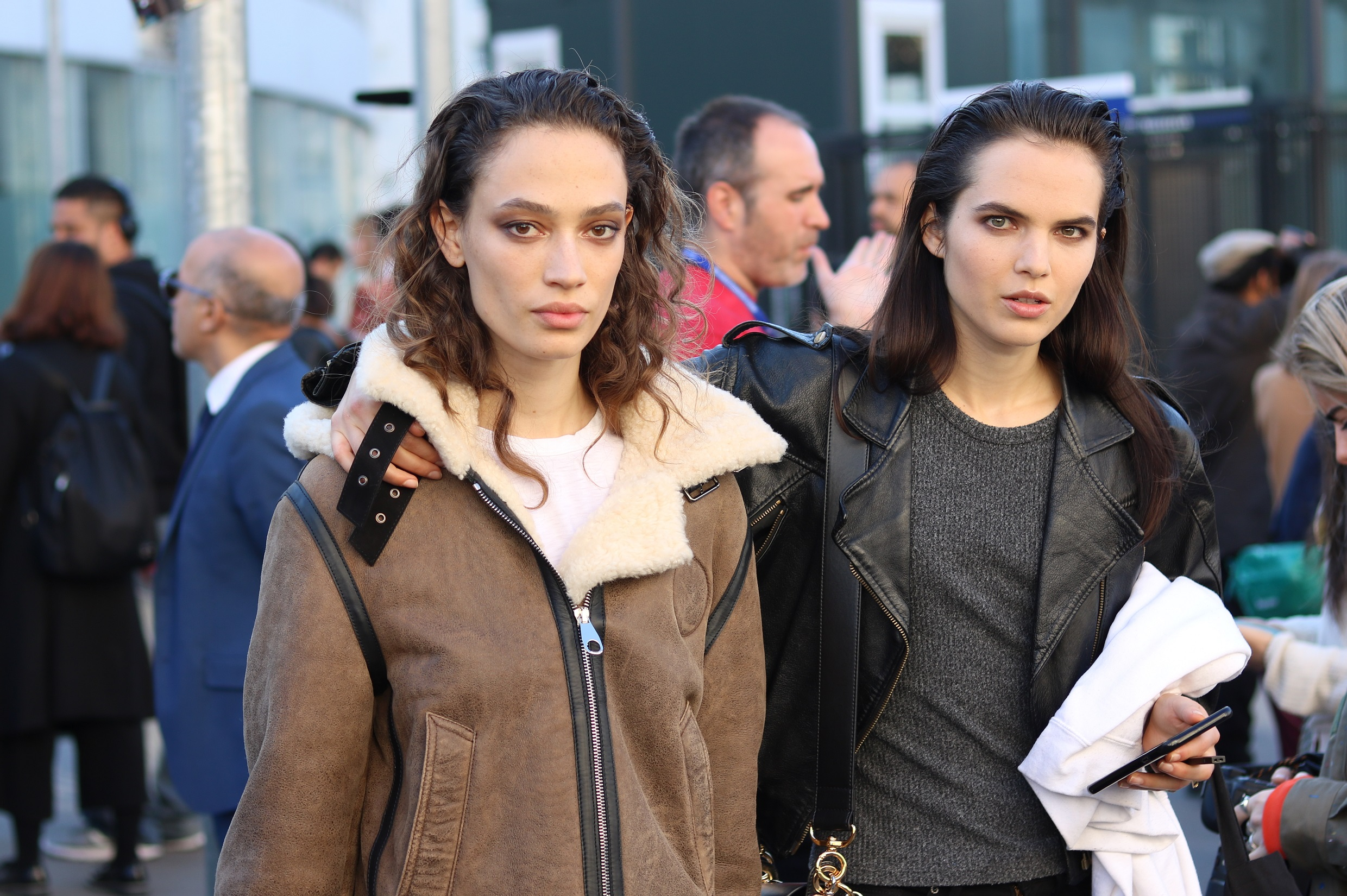 Sophie Koella & Lily Stewart after Chloé S/S 19 – THE MODEL SPOTTER