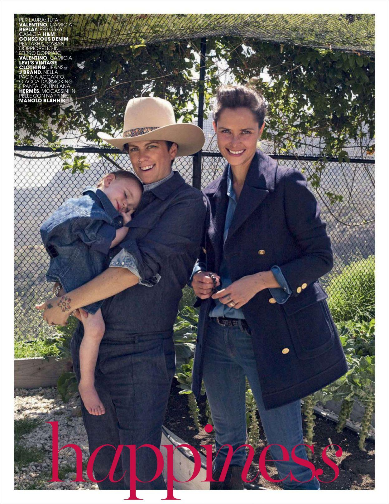 tasha, laura and one child | tasha tilberg-celesbian