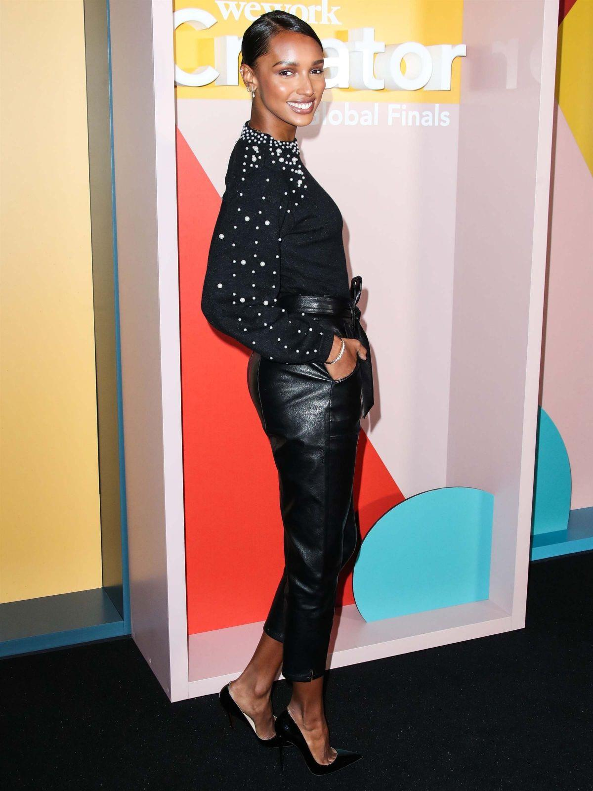 Jasmine Tookes At We Work Creator Awards Global Finals At Microsoft