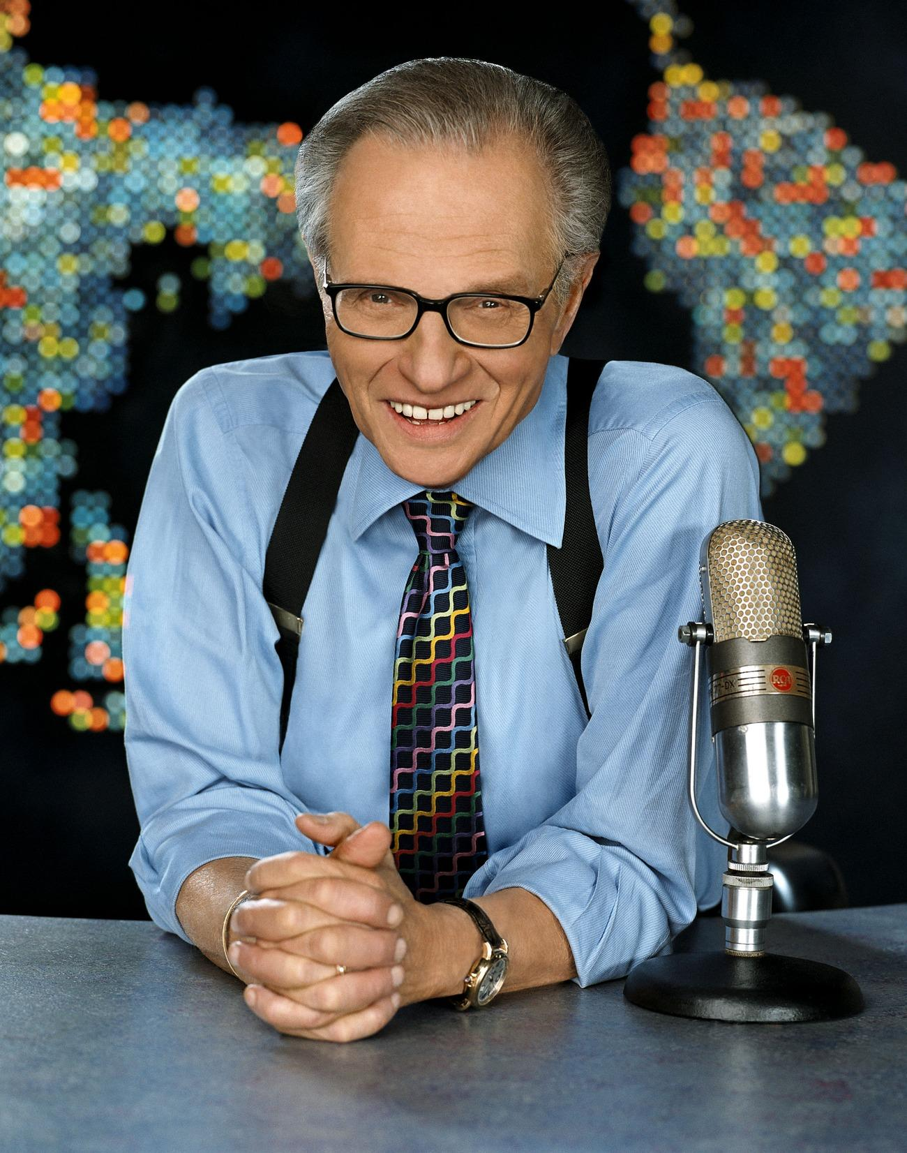 Larry King Photos and Pictures