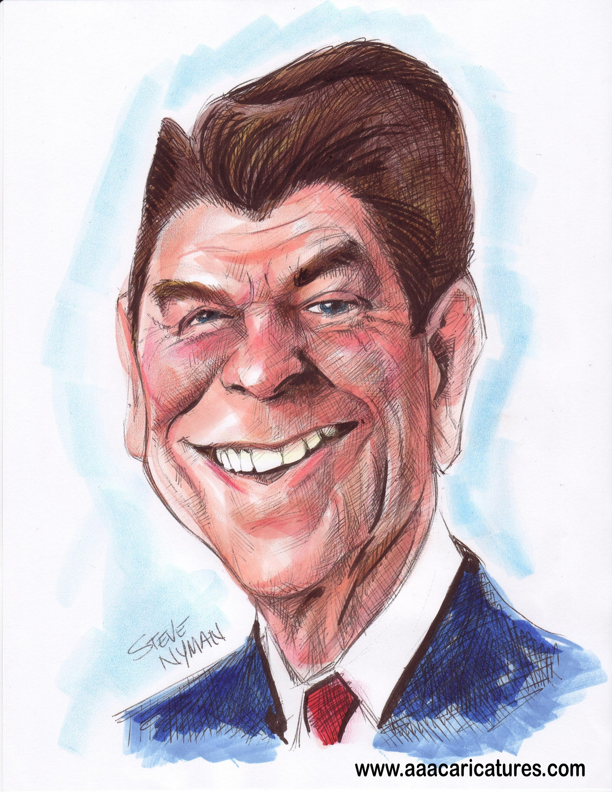 Ronald Reagan image Ronald Reagan Caricature Art HD wallpapers and