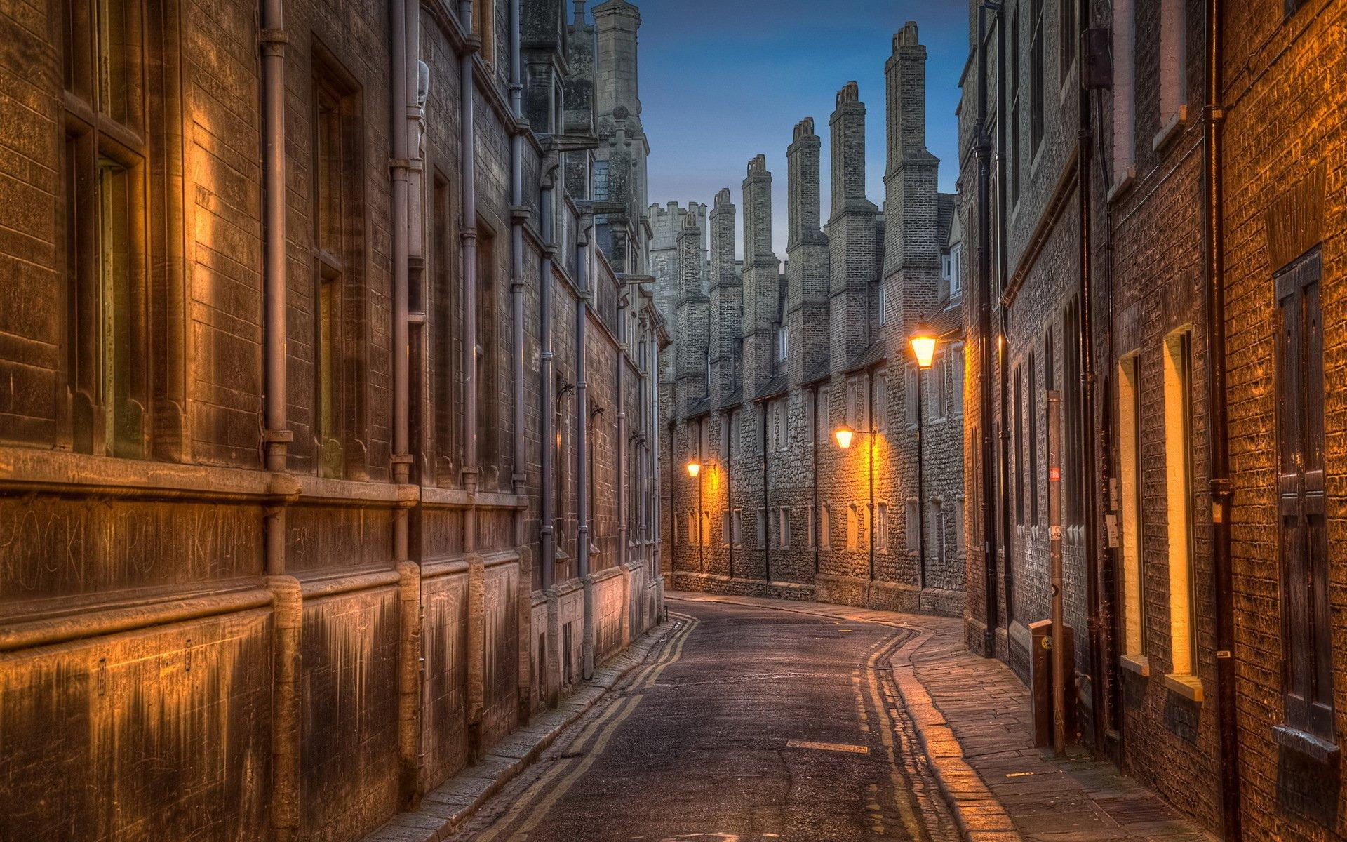 Trinity Lane, street in Cambridge HD Wallpapers