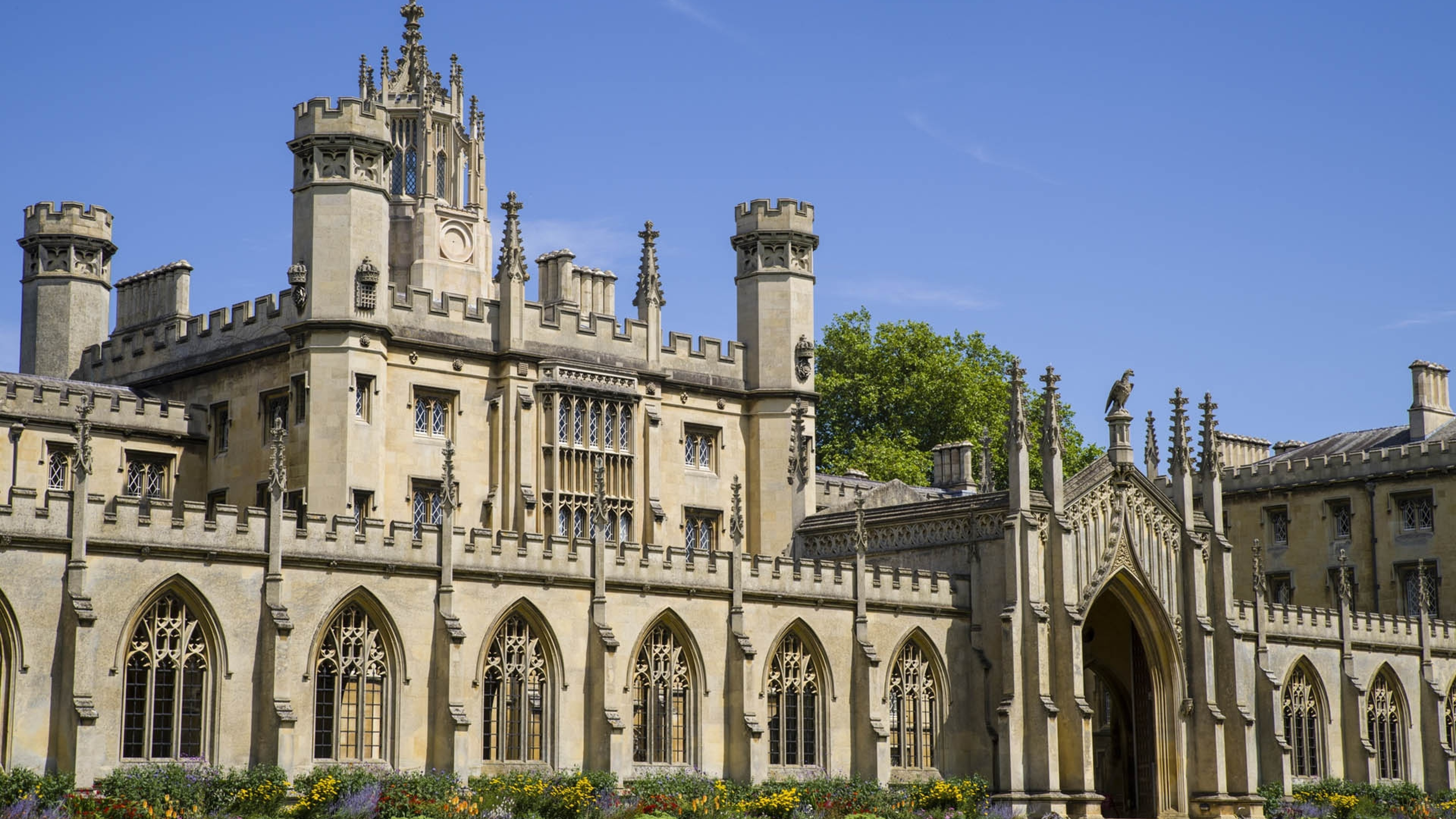 Download 3840x2160 Cambridge University, Old Architecture Wallpapers ...