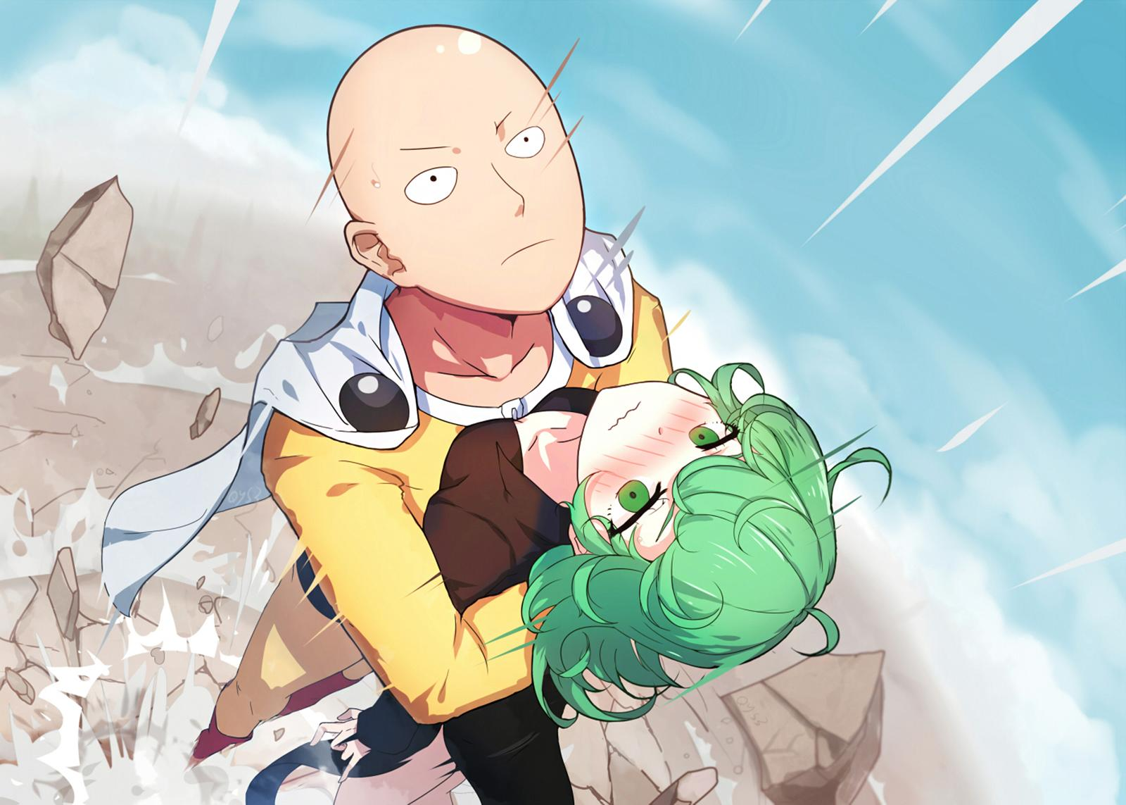 Tornado One Punch Man Wallpapers Wallpaper Cave