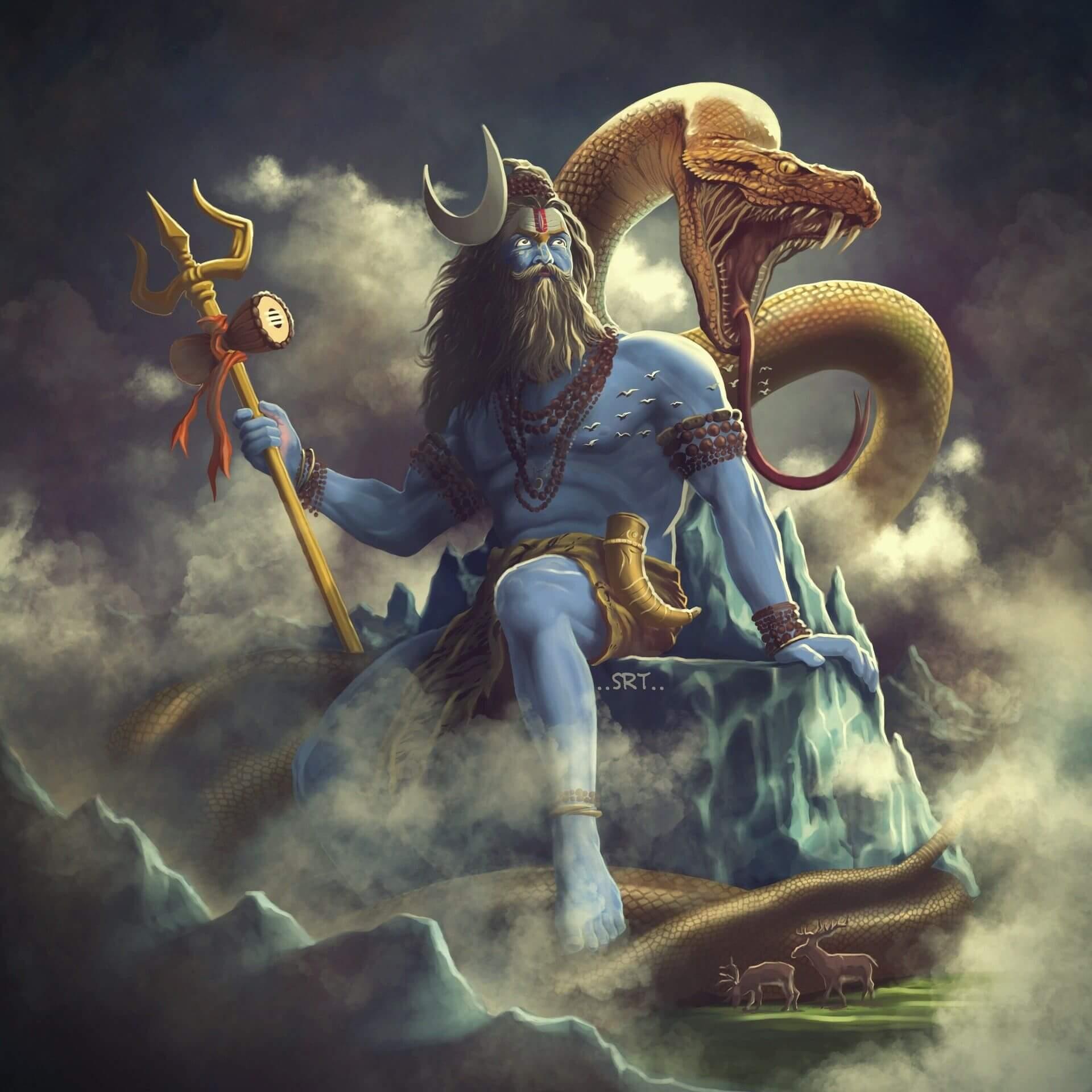 Lord shiva angry animated 3d wallpapers inspirational aghori shiva