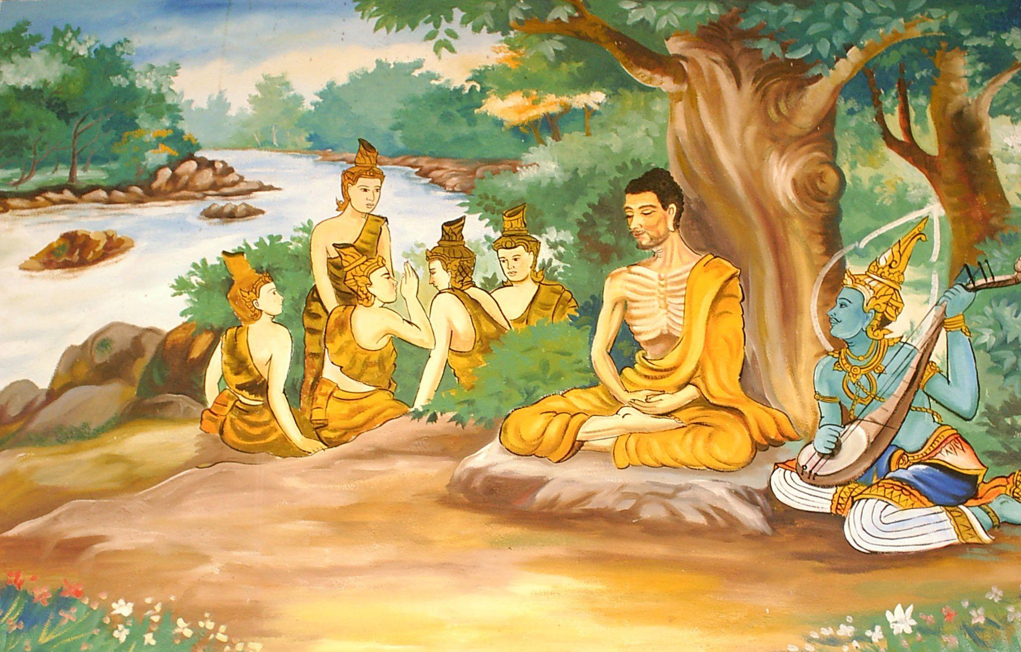 How the First Buddhist Monks Lived and Practiced