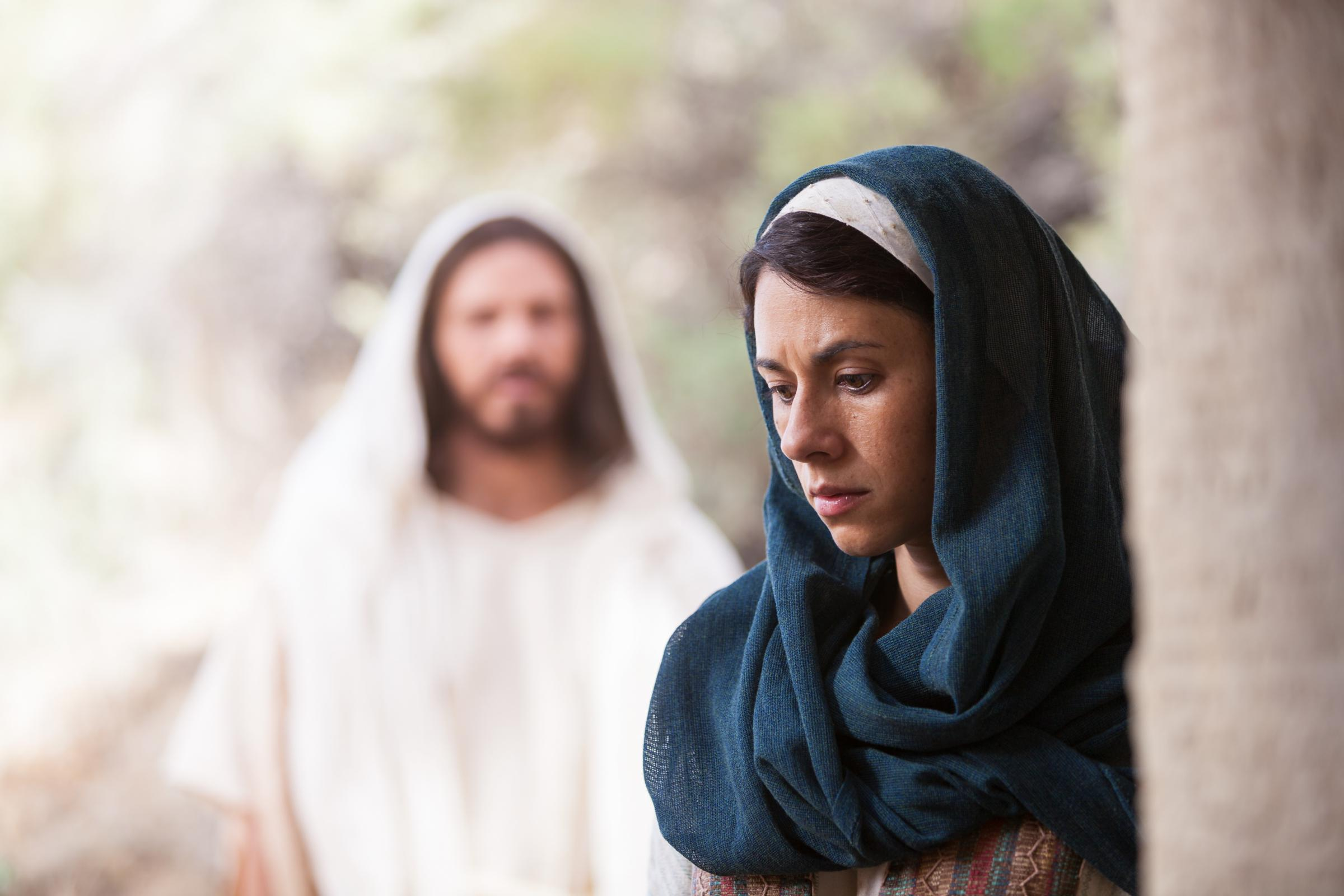 Mary Magdalene Hears Christ's Voice