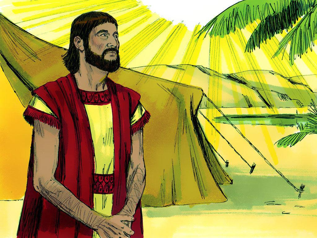 FreeBibleimage :: Abraham is called by God to move to the land of