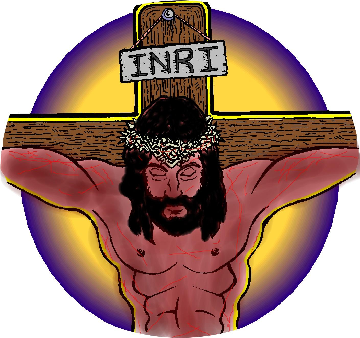 Free Jesus On The Cross Clipart, Download Free Clip Art, Free Clip