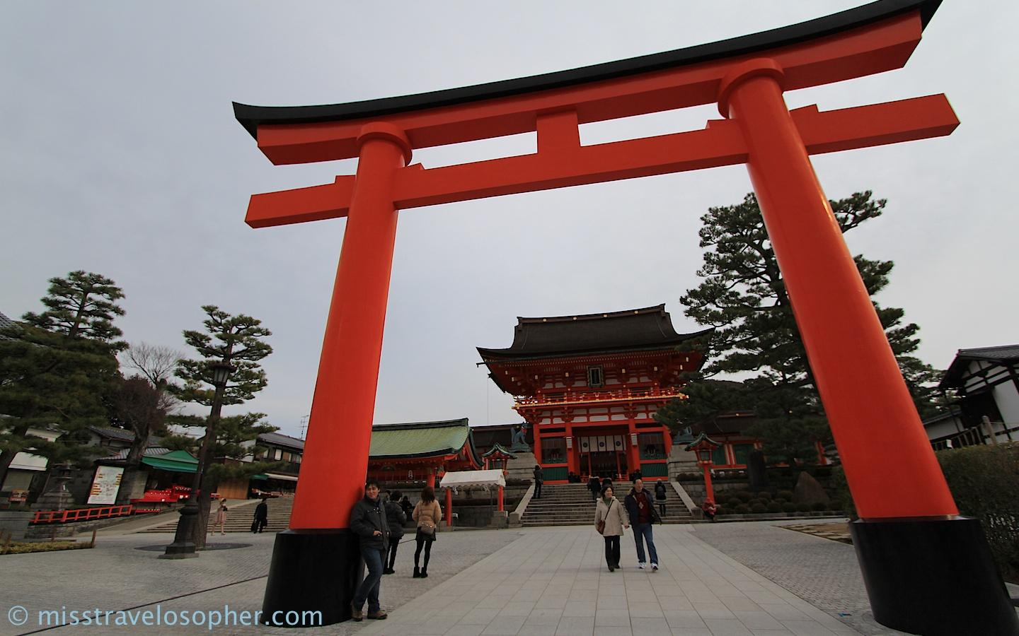 Torii gate shrine japan wallpapers