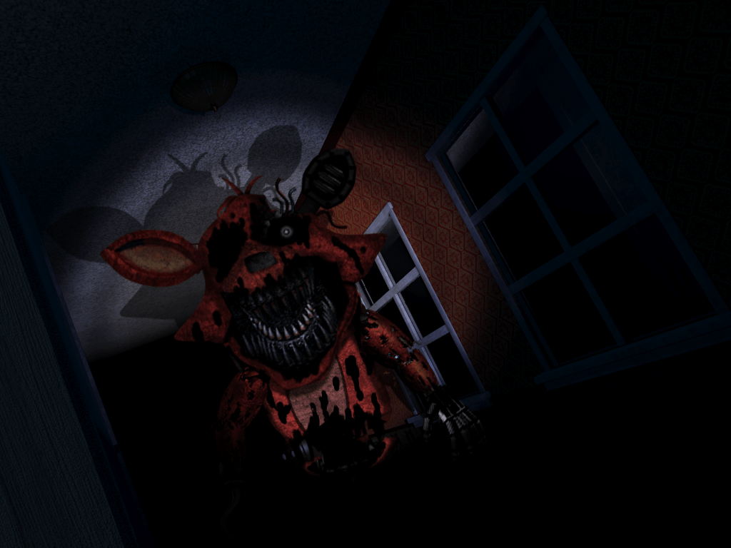 Nightmare Foxy Wallpapers - Wallpaper Cave