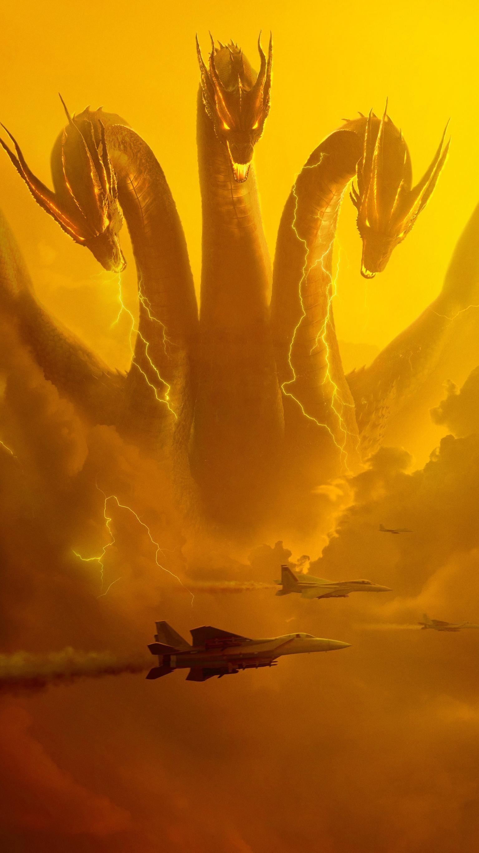 Godzilla King Of The Monsters Wallpapers Wallpaper Cave