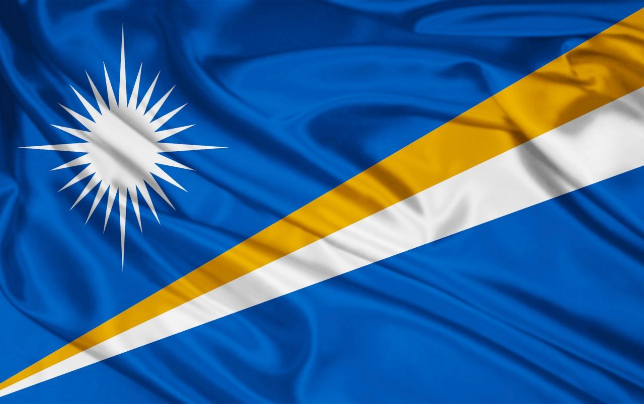Marshall Islands flag wallpapers | Marshall Islands flag stock photos