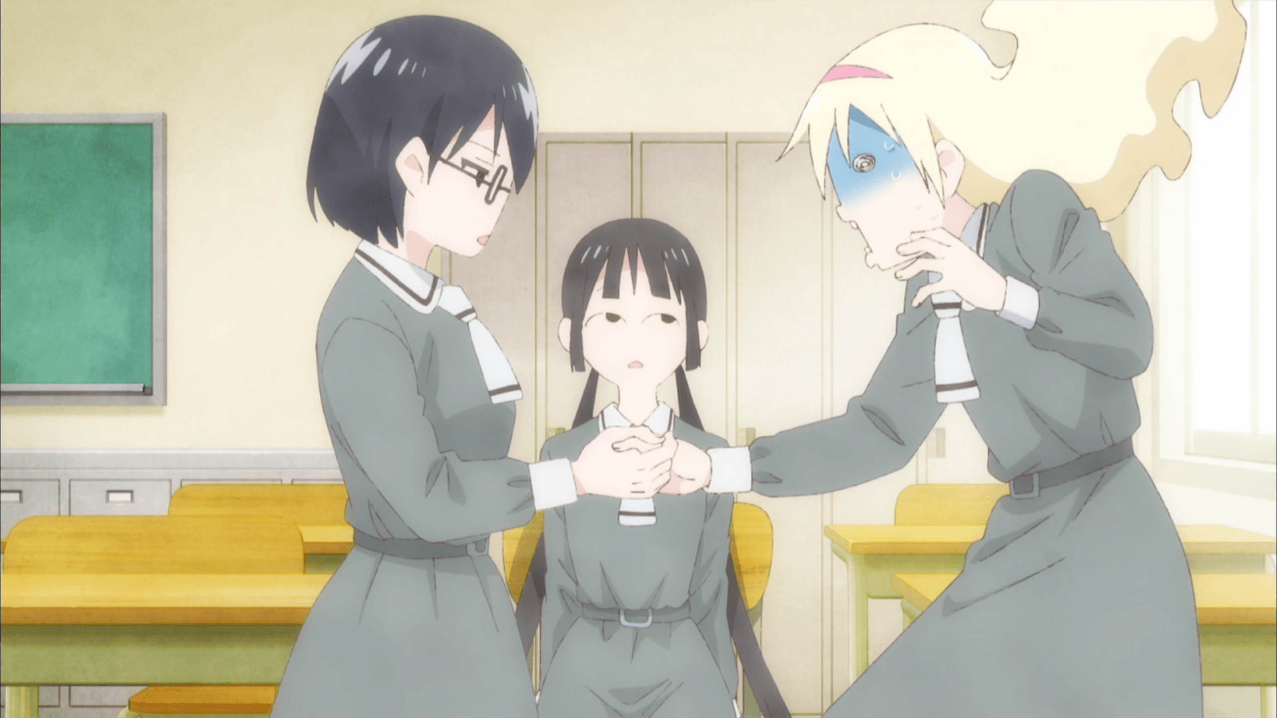 Review] Asobi Asobase – Episode 1