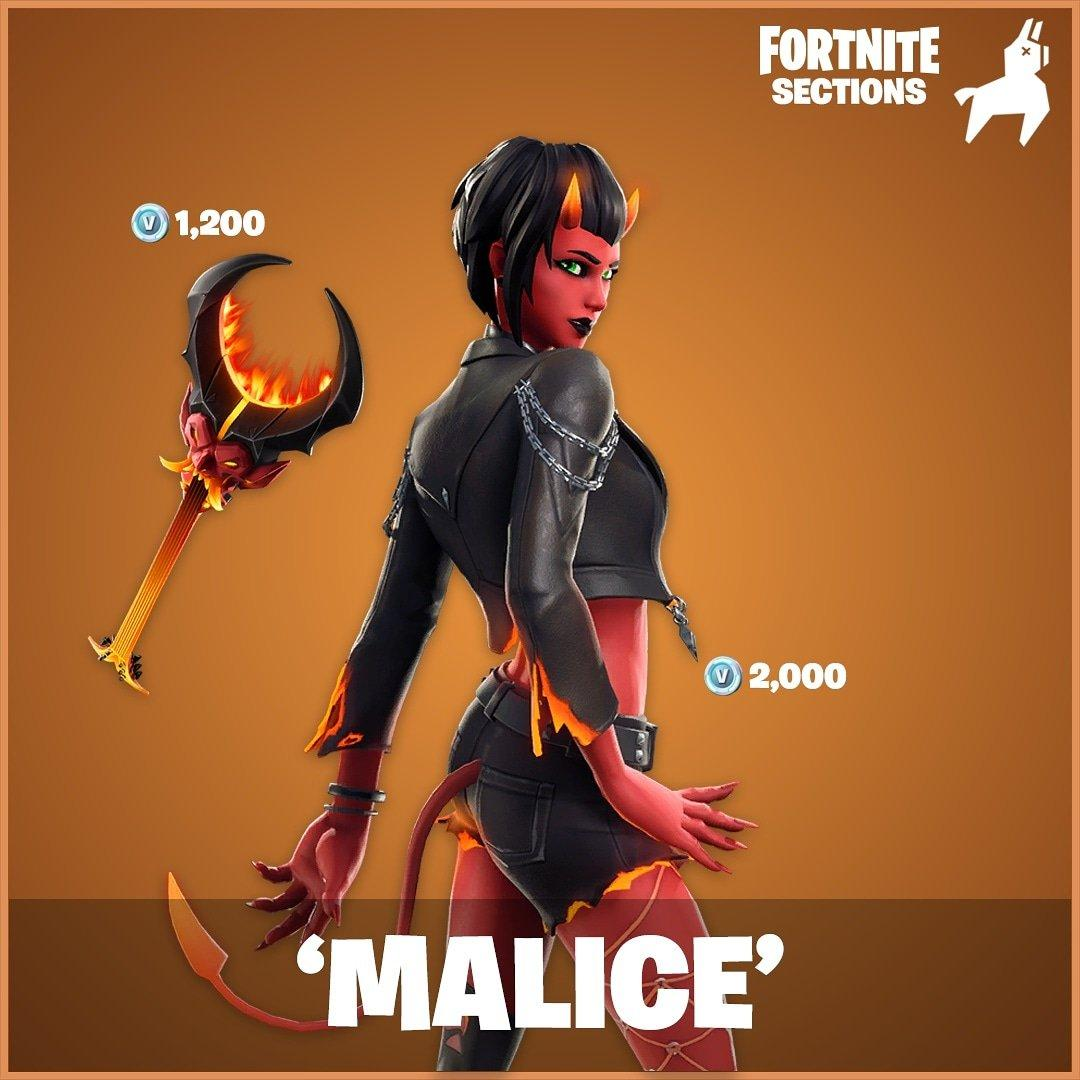 Malice Fortnite wallpaper