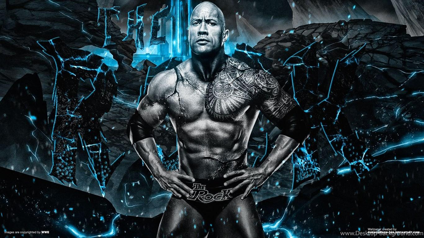 WWE The Rock Wallpapers By Phenomenon Des On DeviantArt Desktop
