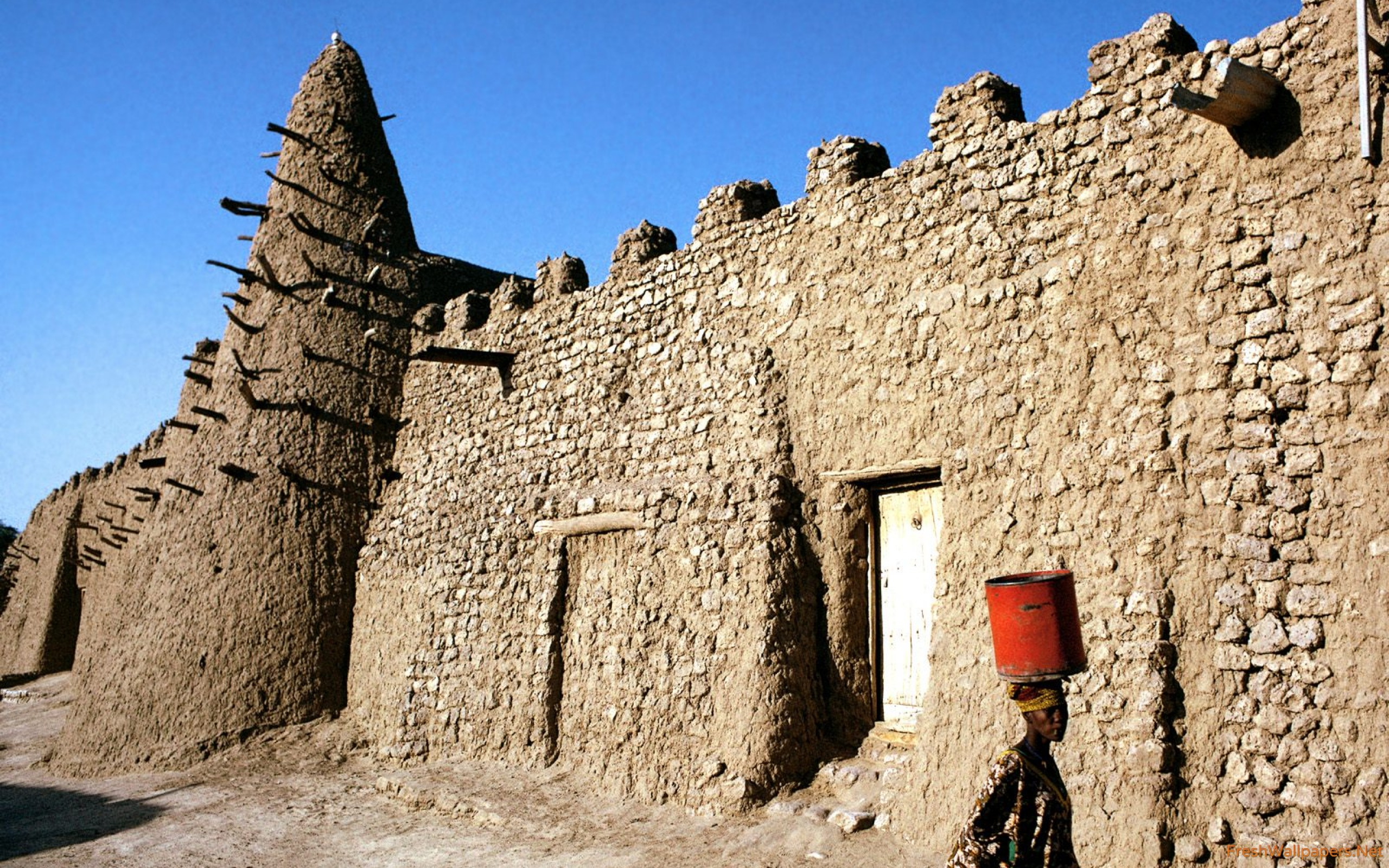 Mosque, Timbuktu, Mali, Western Africa wallpapers