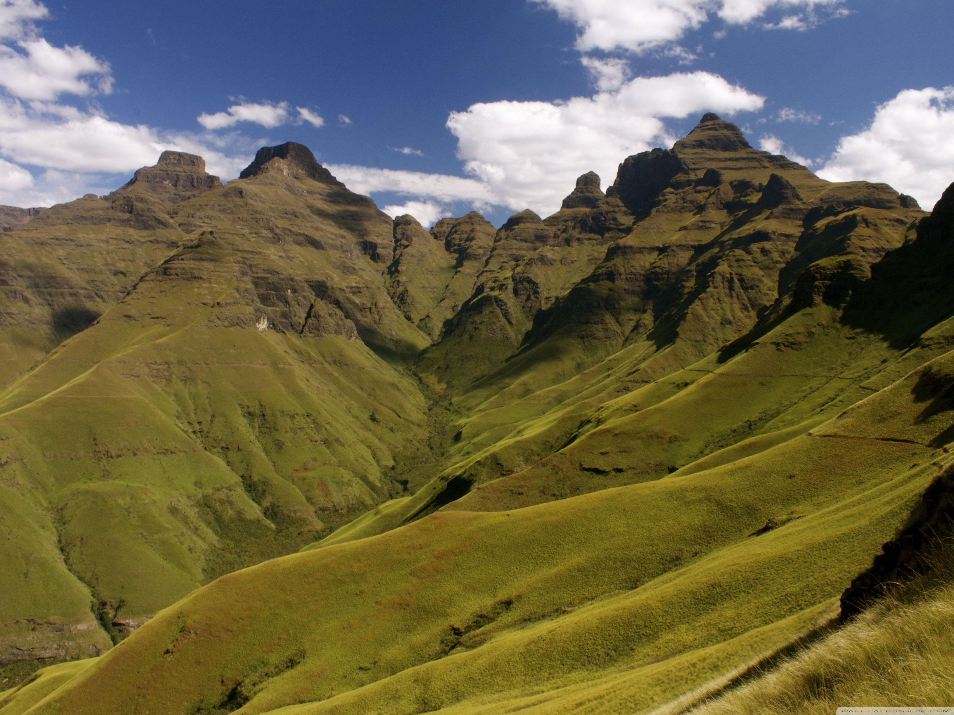 Drakensberg Mountains, Cathedral Peak ❤ 4K HD Desktop Wallpapers for