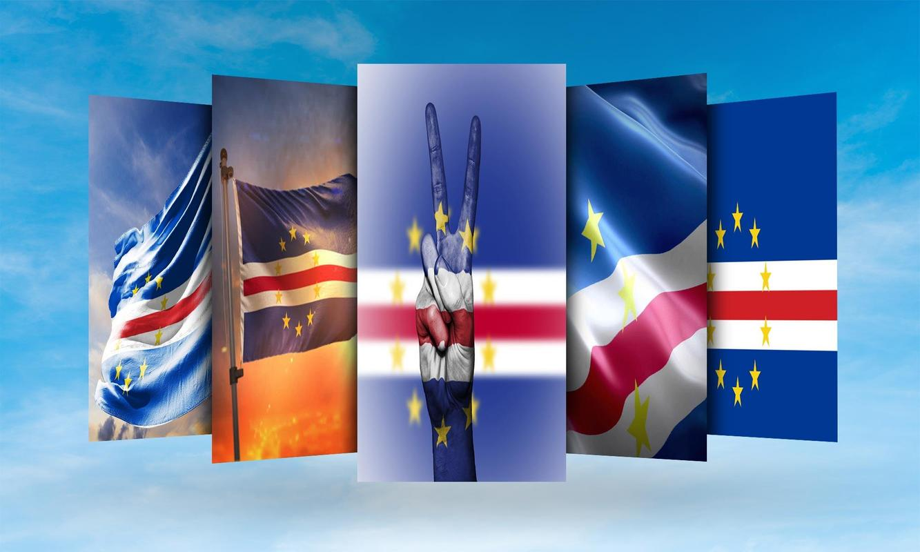 Cabo Verde Flag Wallpaper for Android - APK Download