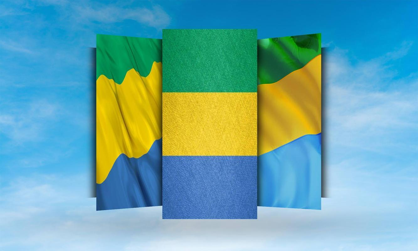 Gabon Flag Wallpaper for Android - APK Download