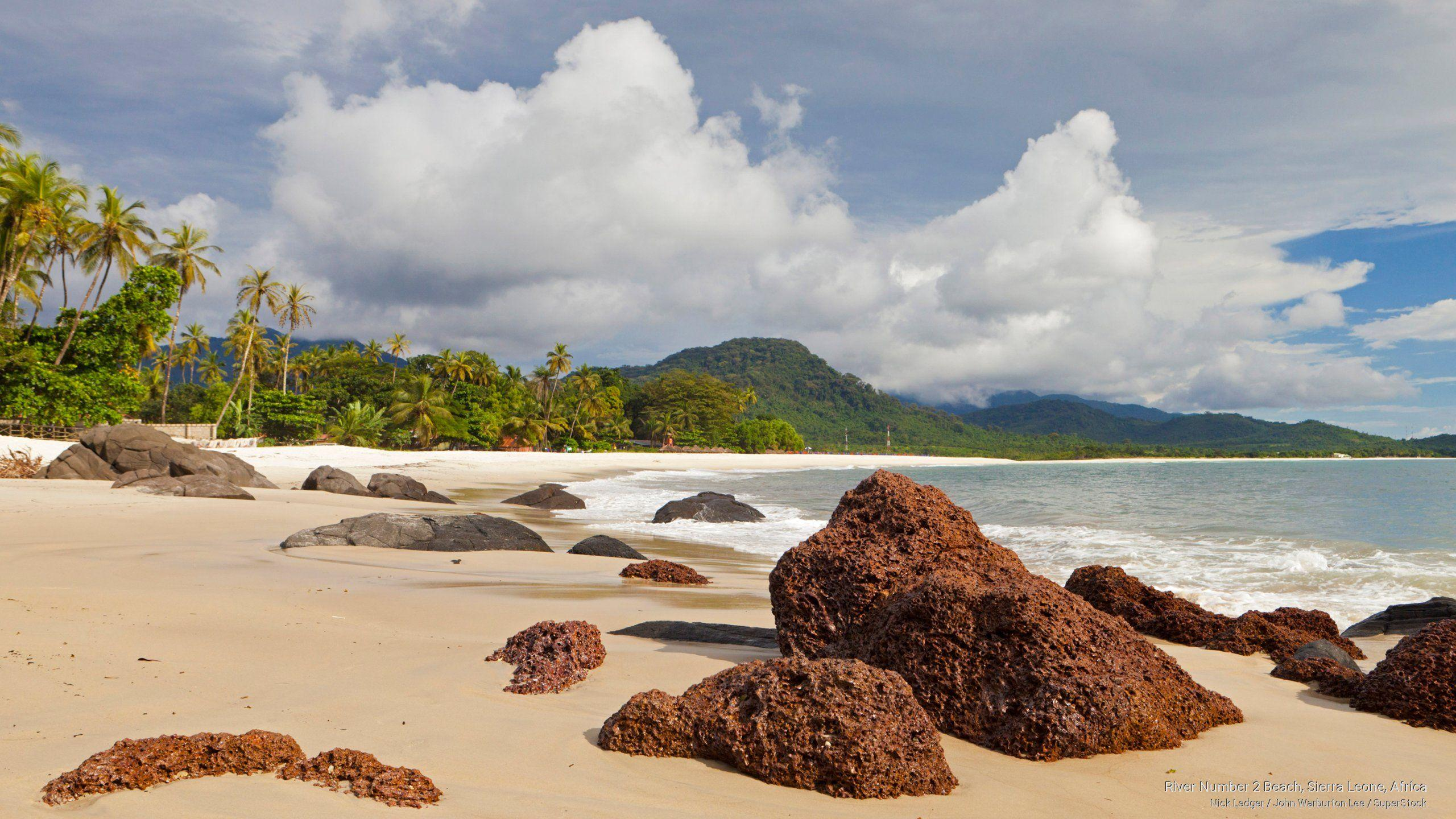 river #2 beach sierra leone | Free Africa Wallpaper - River Number 2 ...