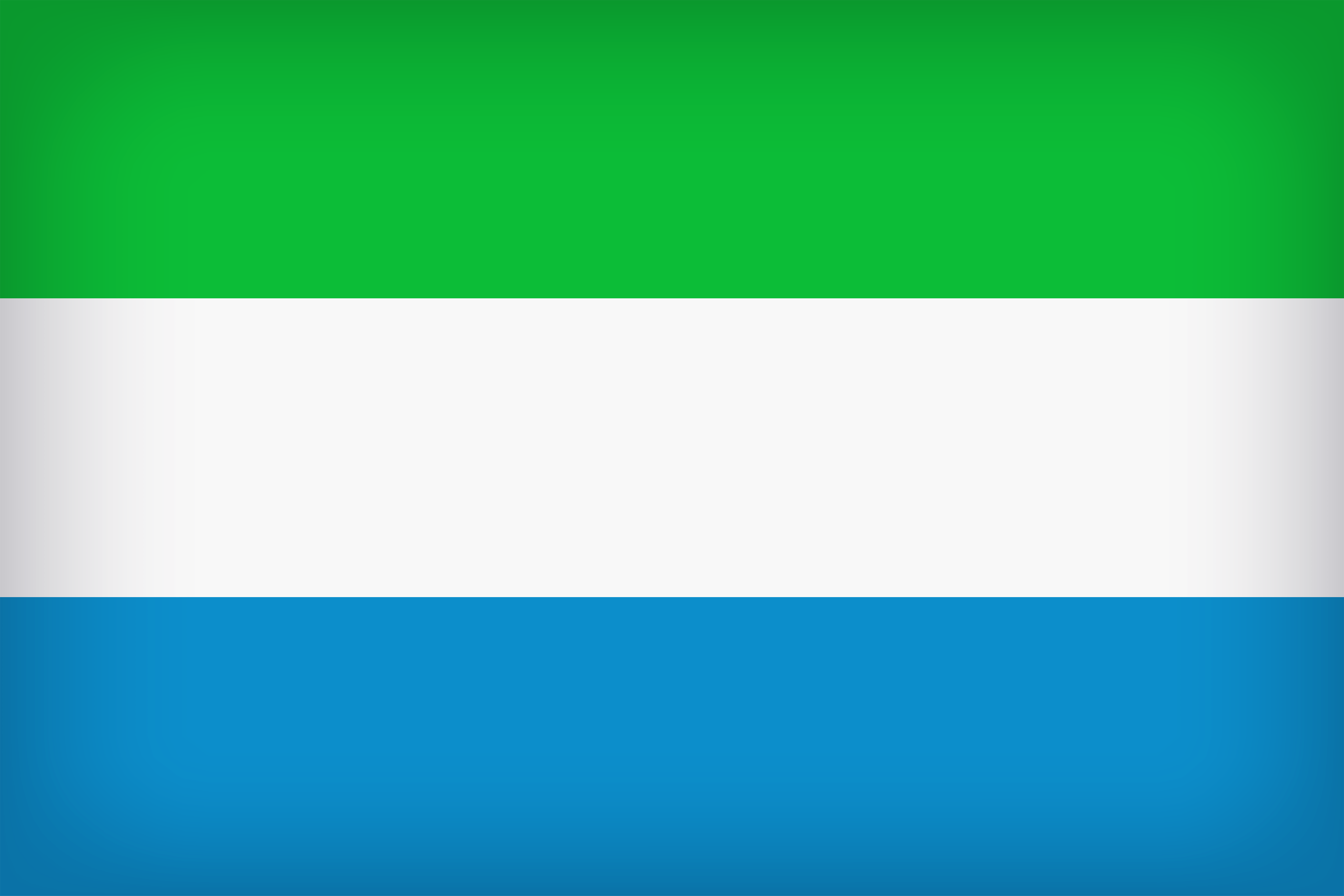 Sierra Leone Large Flag | Gallery Yopriceville - High-Quality ...