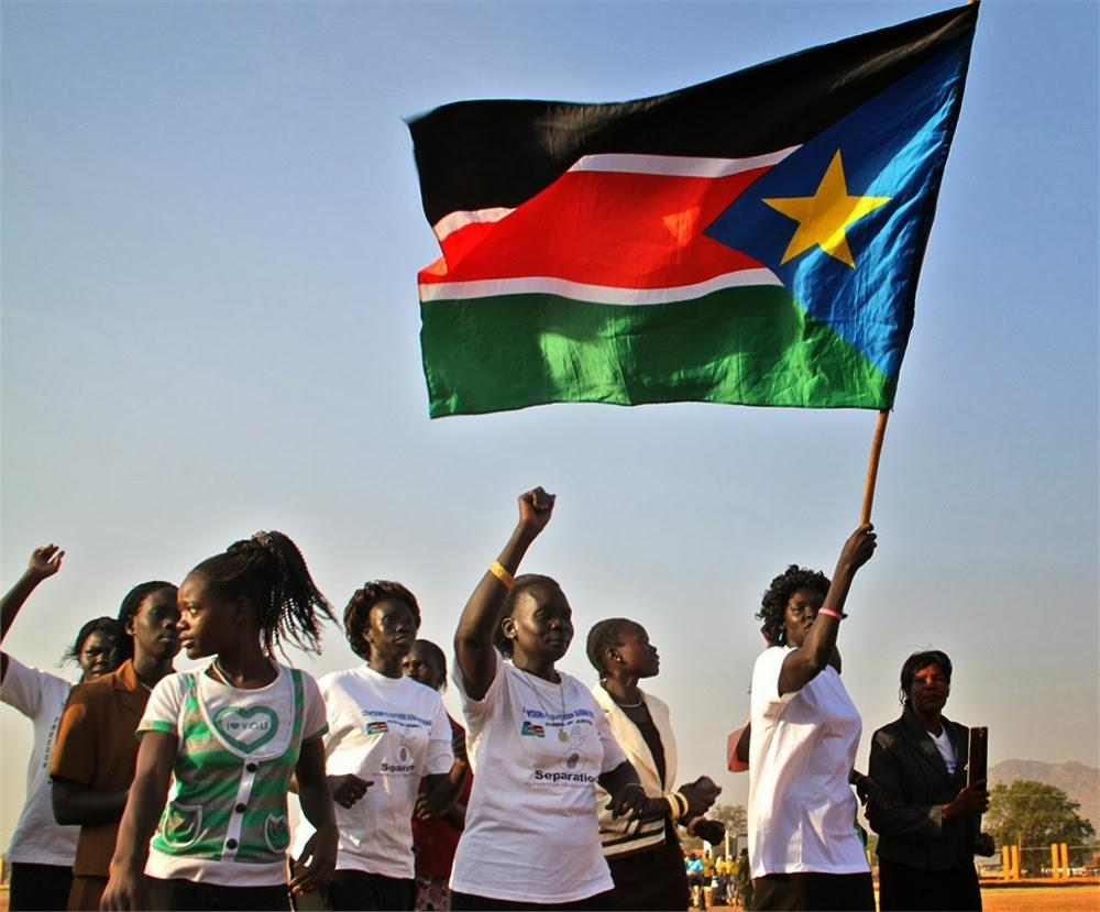 Graafix!: Flag of South Sudan