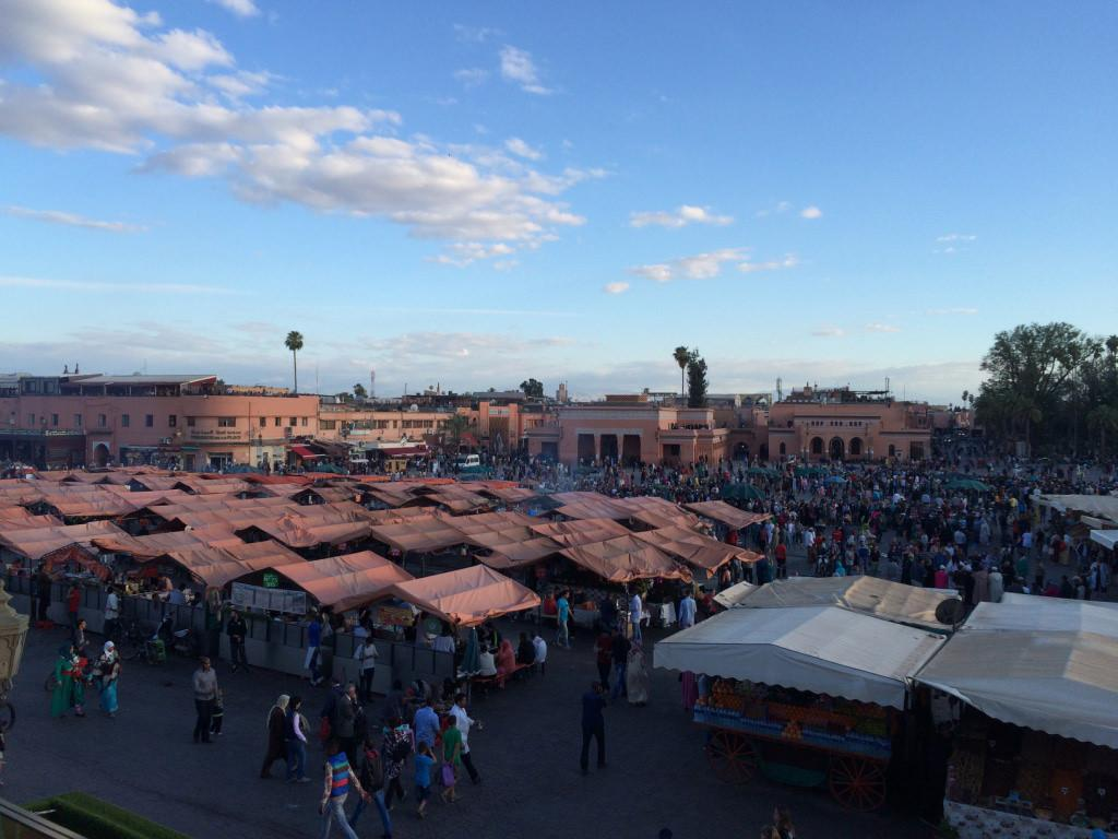 Tino Sehgal ignites the Jemaa el-Fna square in Marrakech | Numéro ...
