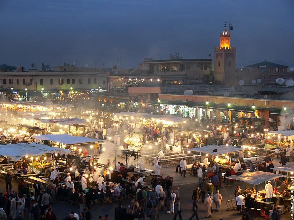 Jamaa el Fna - Marrakech, Morocco | Places I'd Like to Go ...