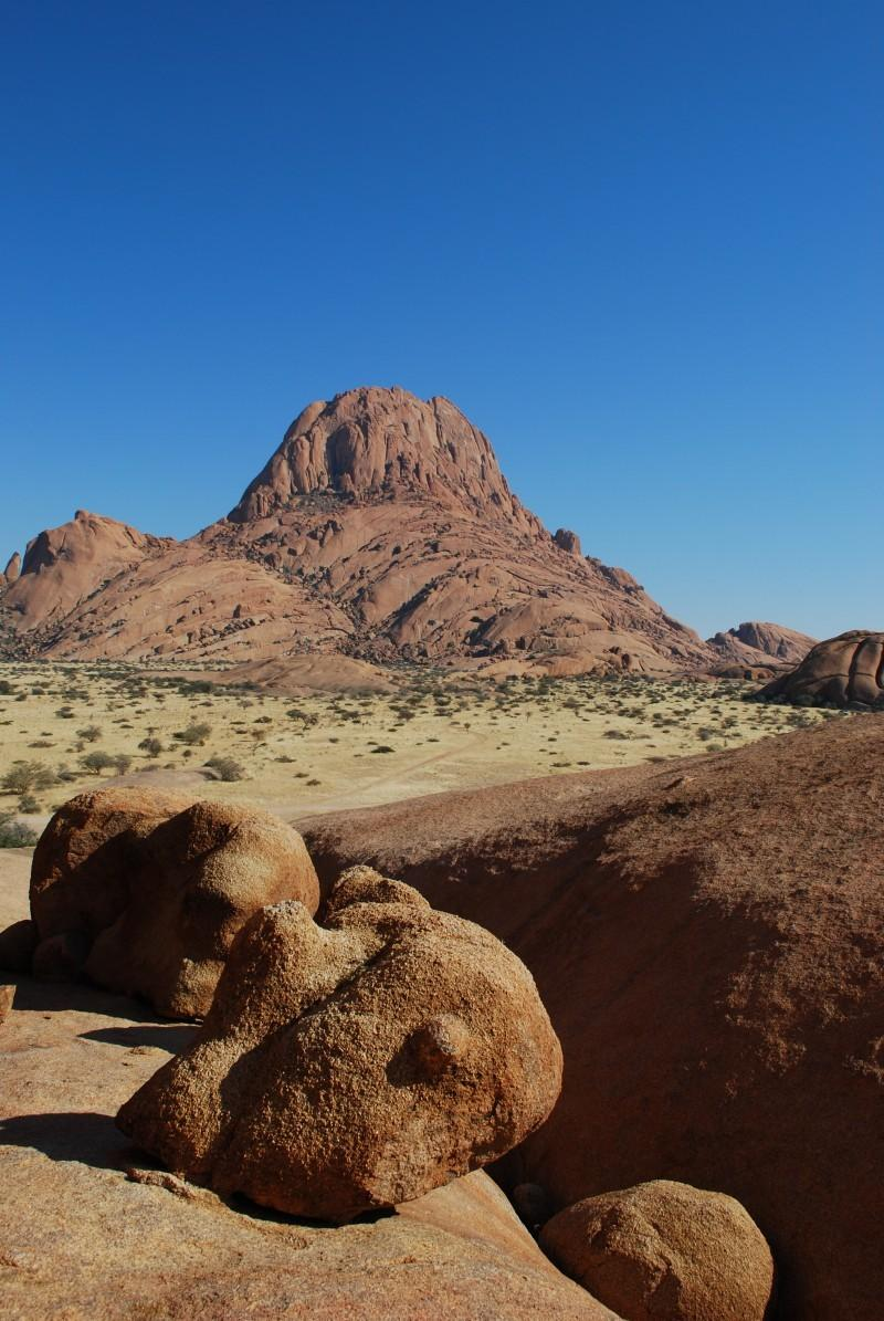 Spitzkoppe Namibia Desert Mountain Backgrounds Image for Free Download