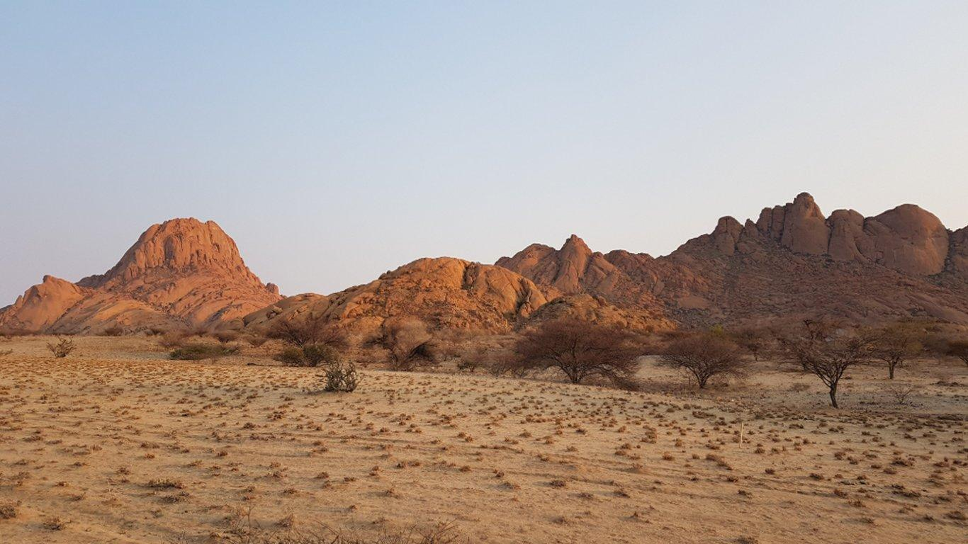 Spitzkoppe Mountain Camp in Swakopmund