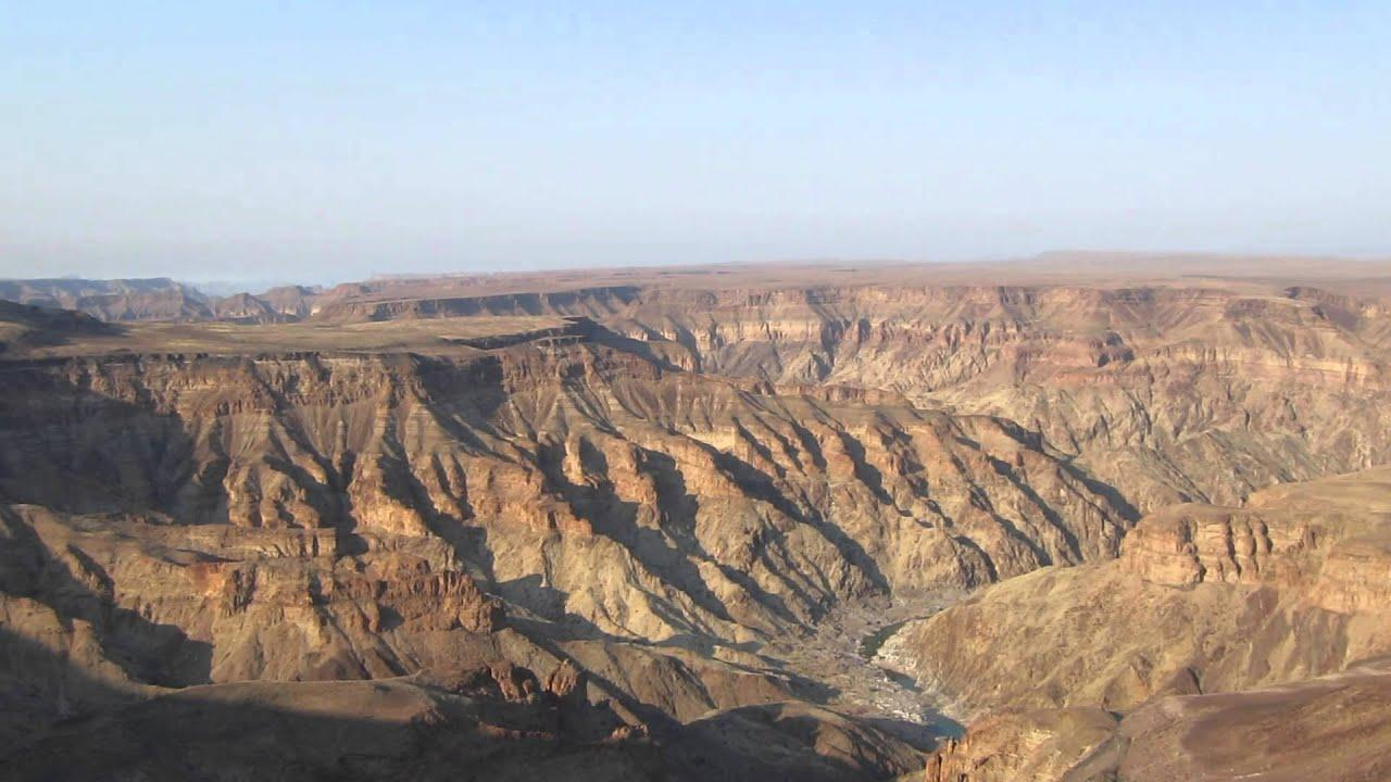 Fish River Canyon in Namibia - YouTube