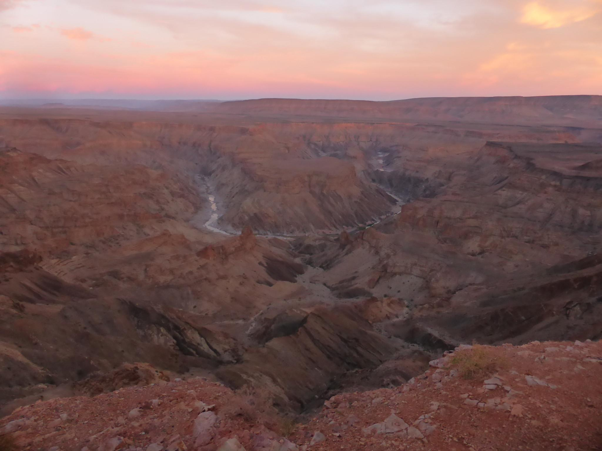 Fish River Canyon, a Club, a Bus - Big Beaver Diaries