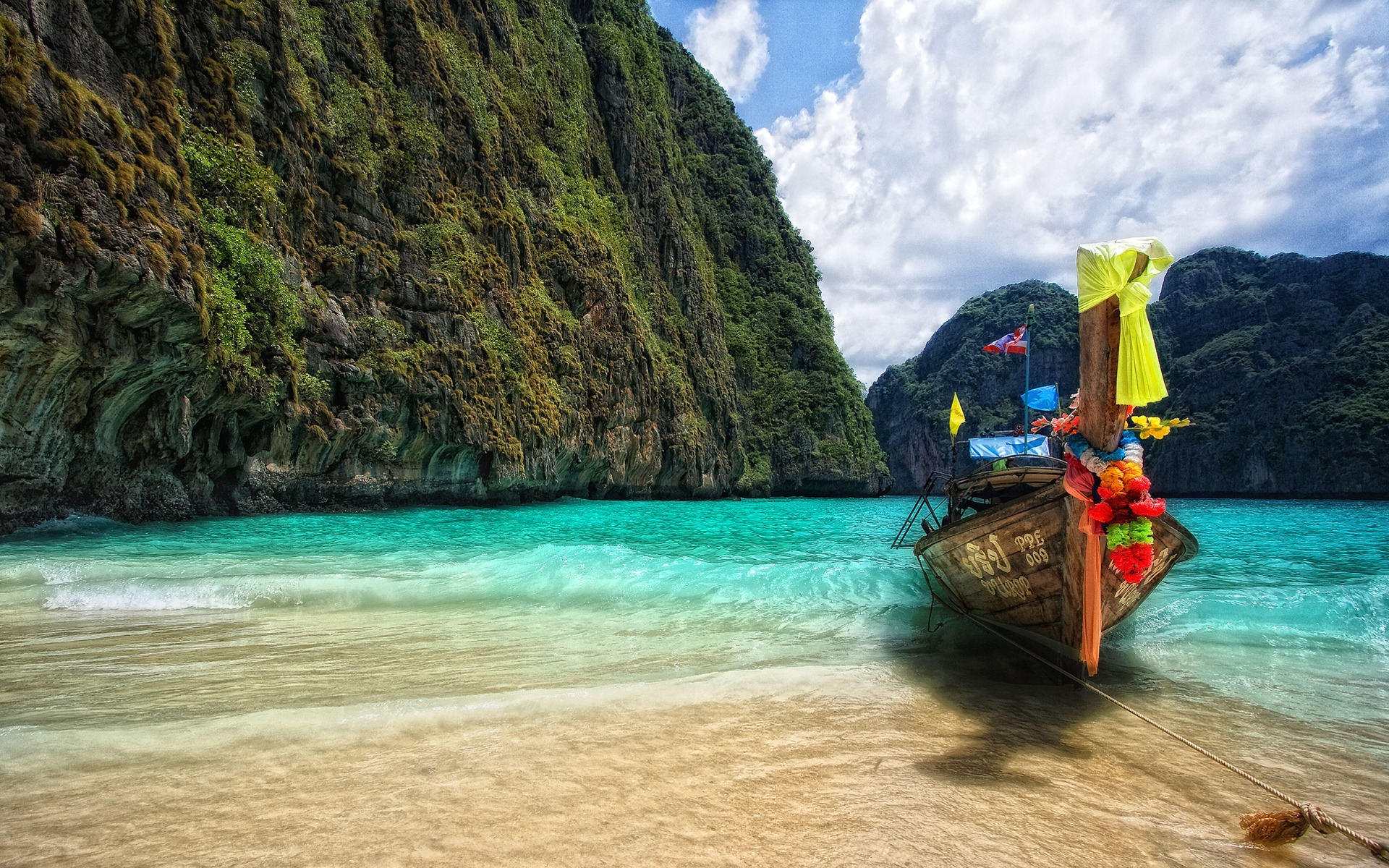 Maya Bay Wallpaper Thailand World Wallpapers in jpg format for free ...