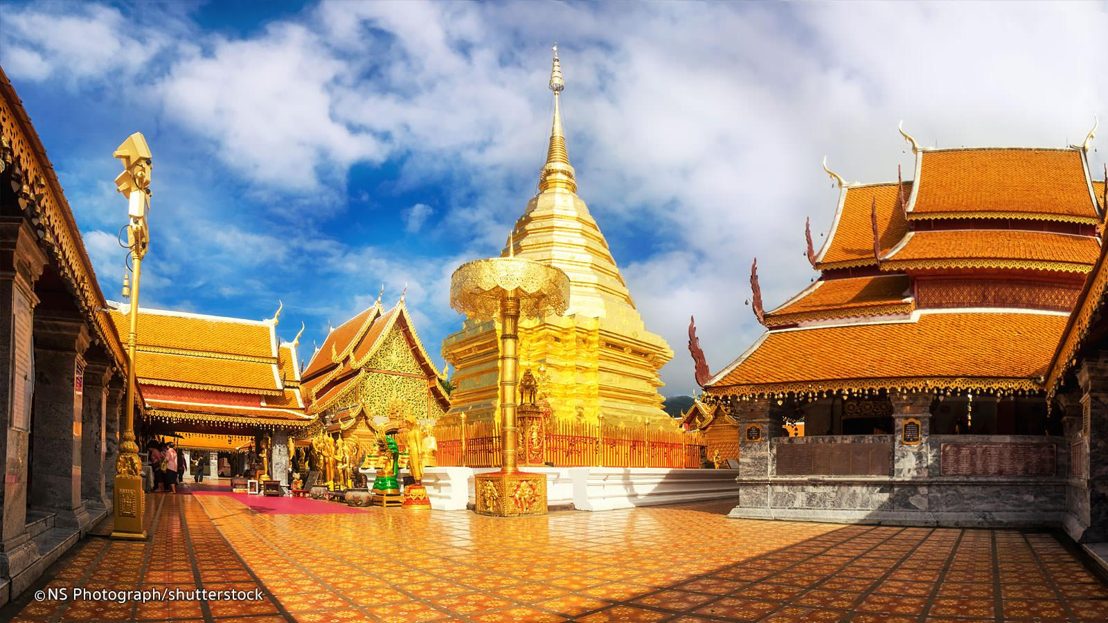 Doi Suthep in Chiang Mai: Large Photos and VDO of Chiang Mai Temples
