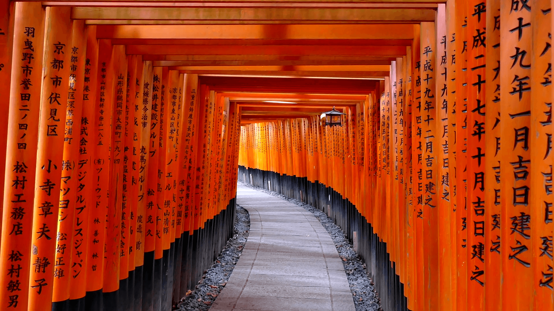 Fushimi Inari Shrine or Fushimi Inari Taisha, a Shinto shrine in