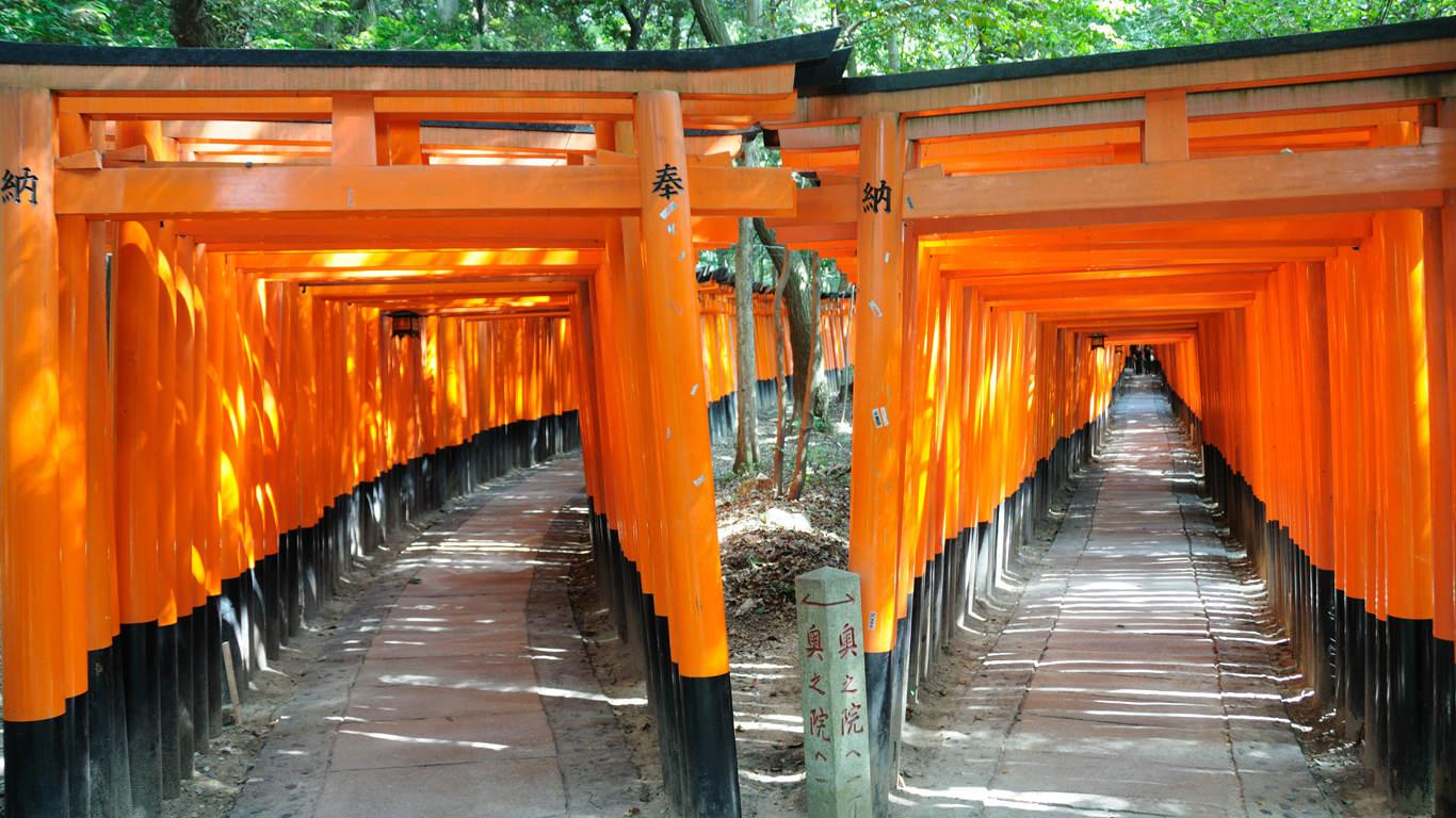 Kyoto travel guide area by area: the Fushimi Inari Shrine