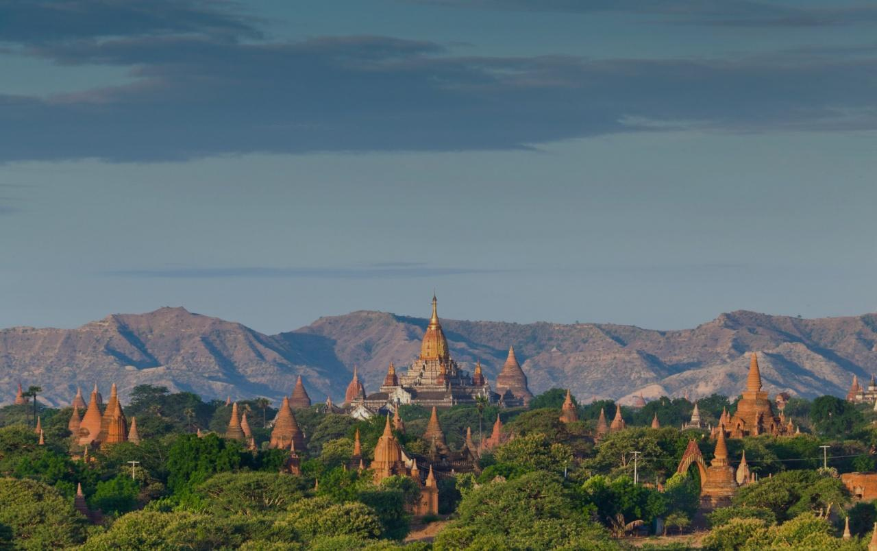 Temples Of Bagan Burma wallpapers