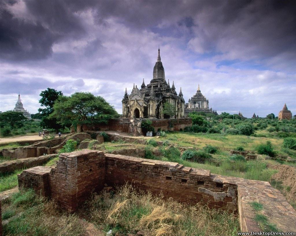 Desktop Wallpapers » Natural Backgrounds » Bagan, Myanmar » www